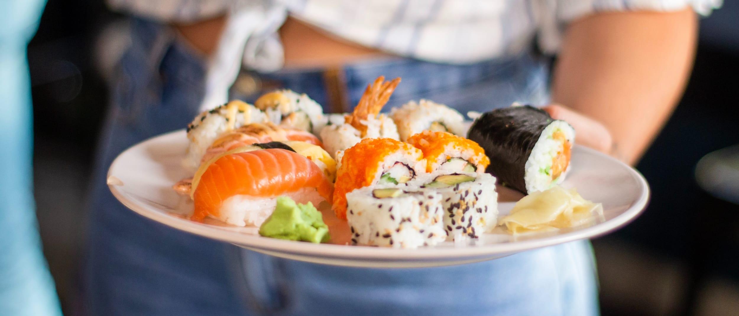 Know your bonito from your unagi: Sushi and sashimi explained