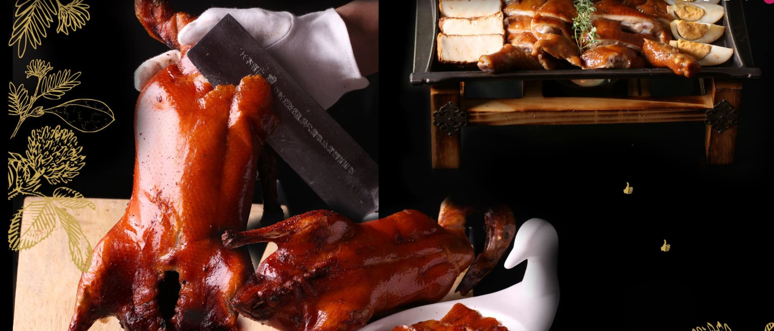 Zilver: peking duck buy one get one free