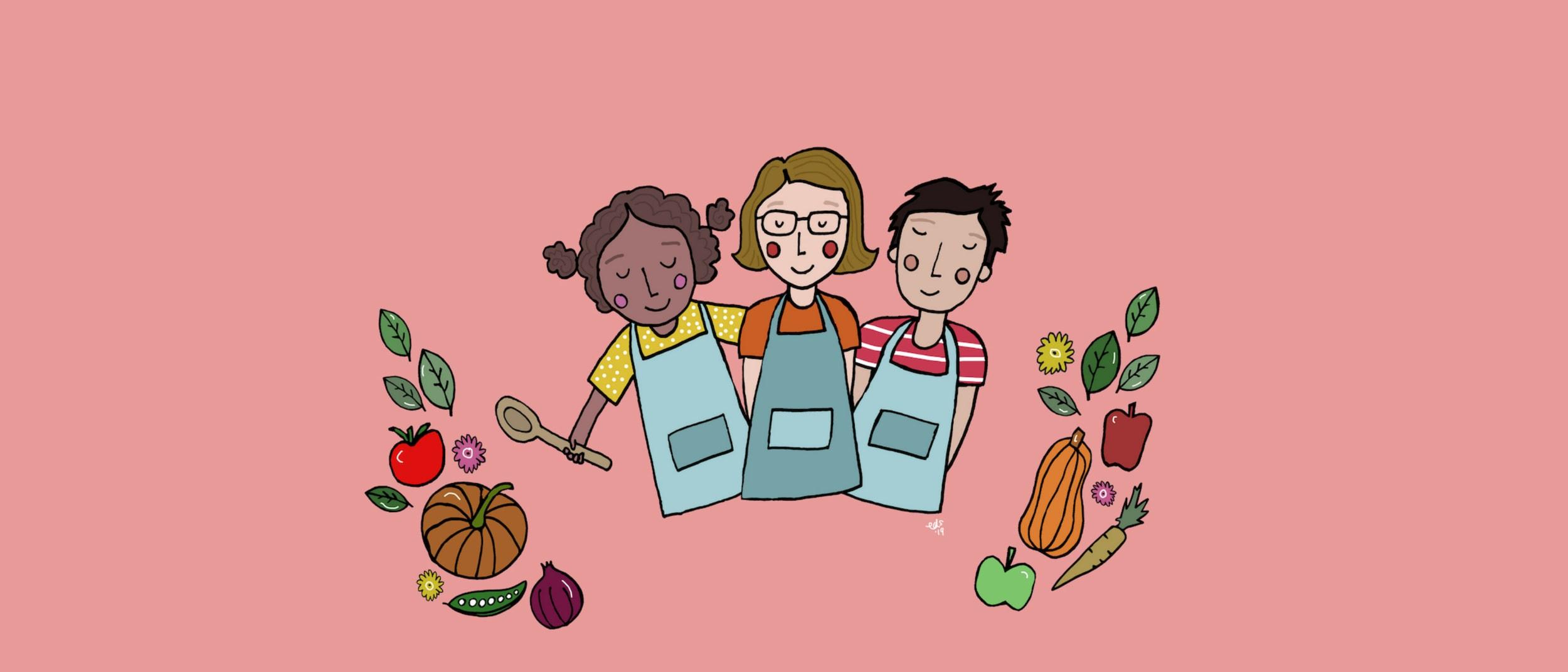 Little Foodie Club Cooking School