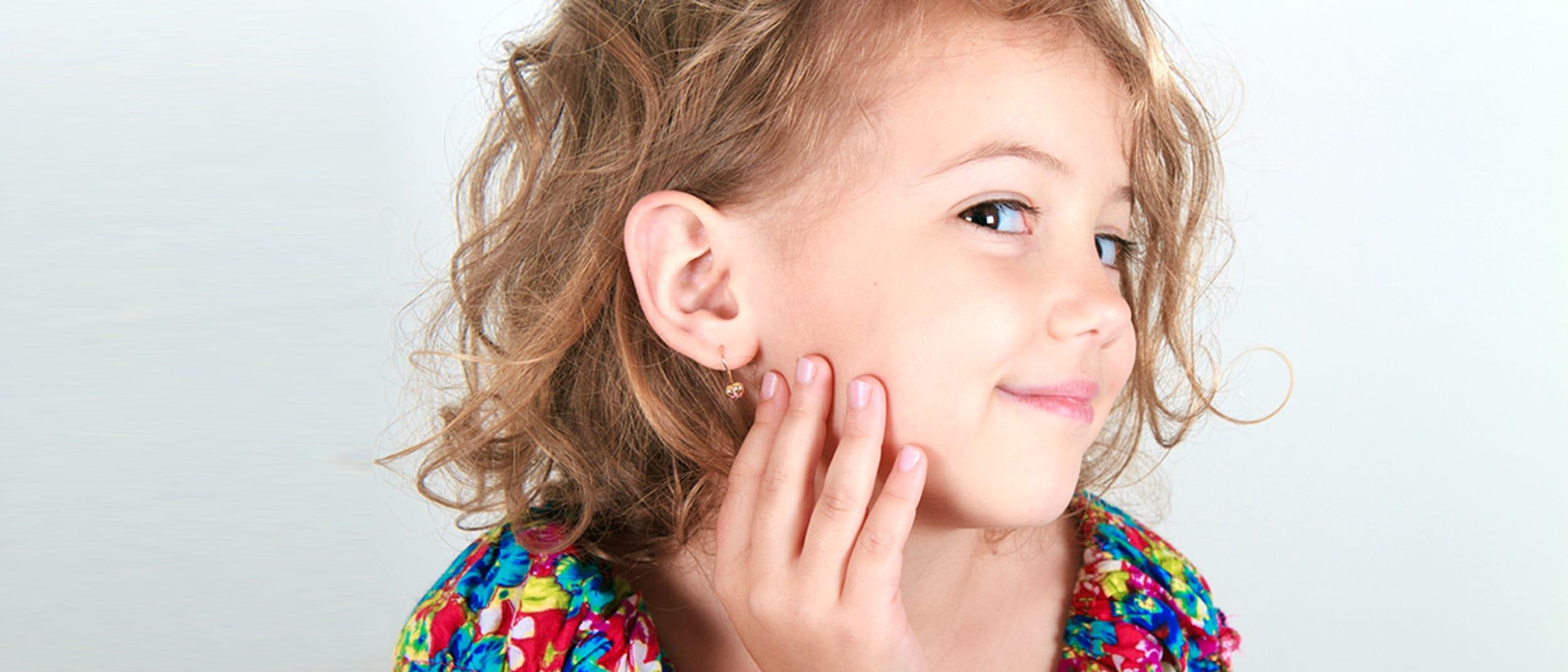 Essential Beauty: Children's ear piercing