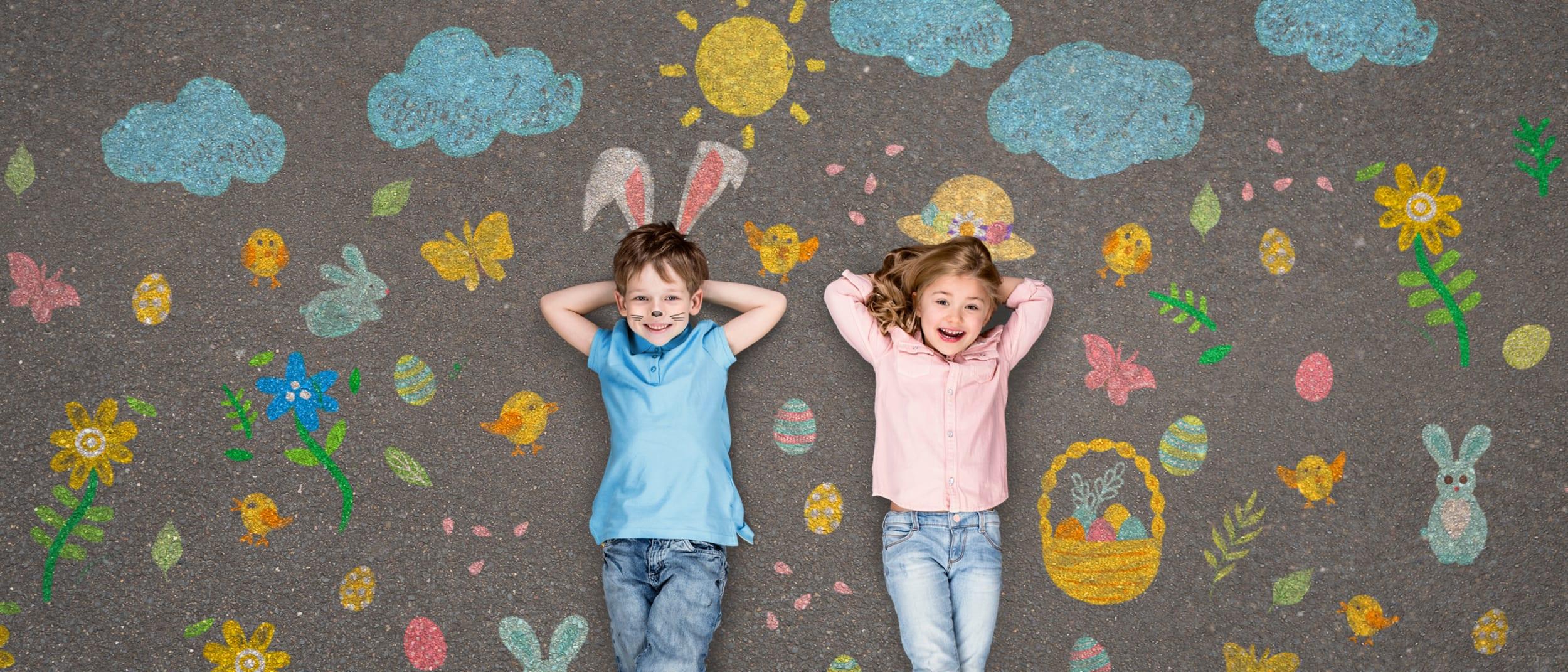 Darrell Lea Easter egg hunt