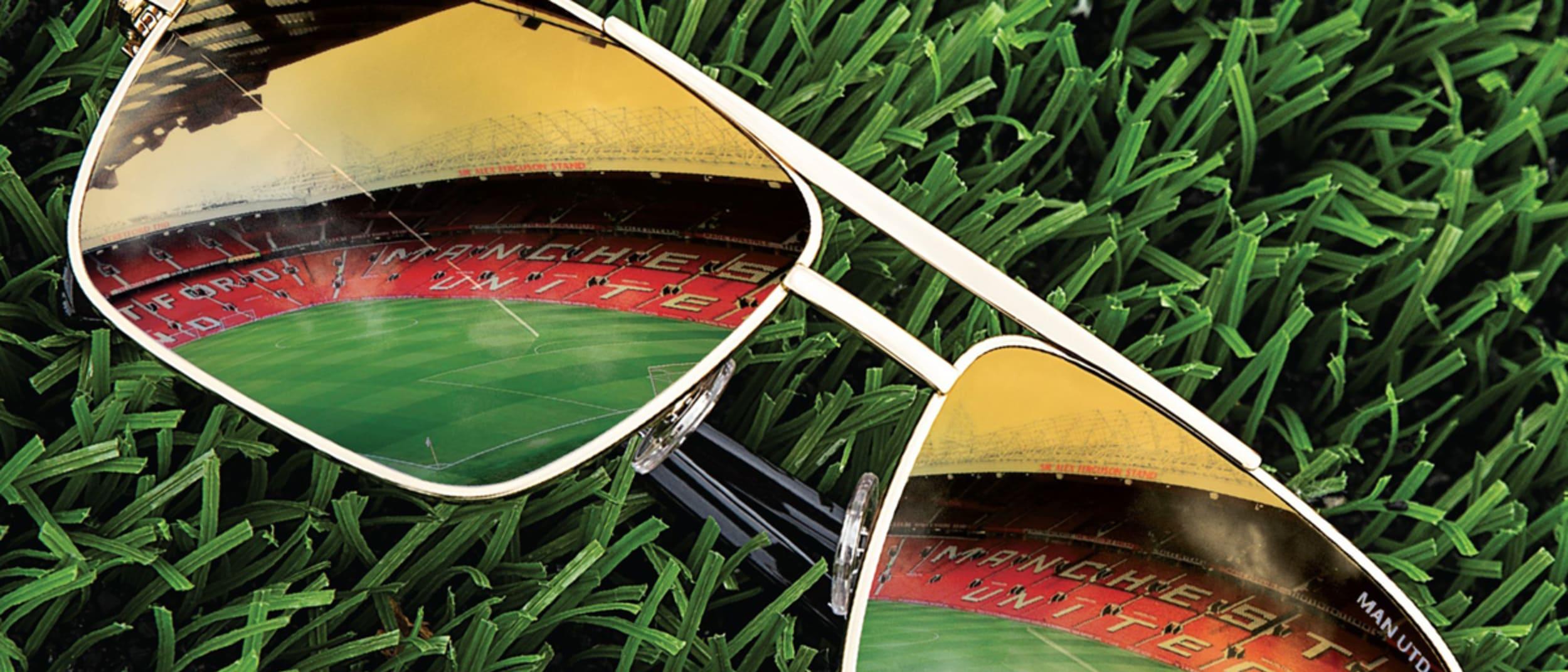 Maui Jim X Manchester United drop at Sunglass Culture