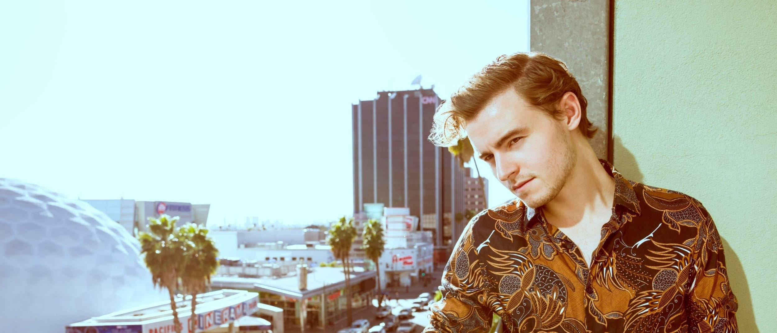 Book signing with The Walking Dead's Callan McAuliffe