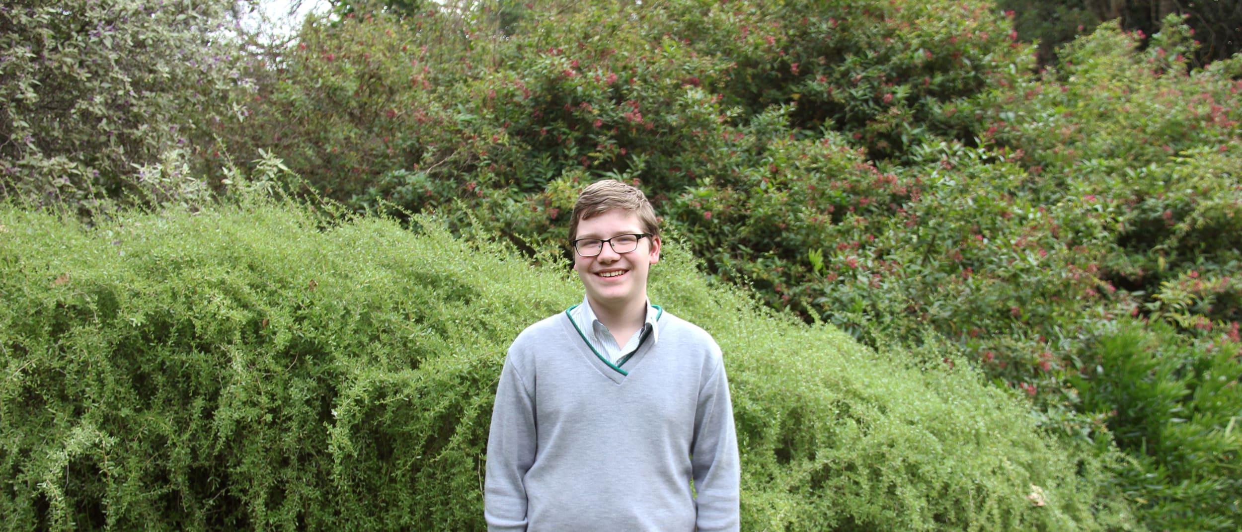 Samuel Weavers - Westfield Local Heroes 2020