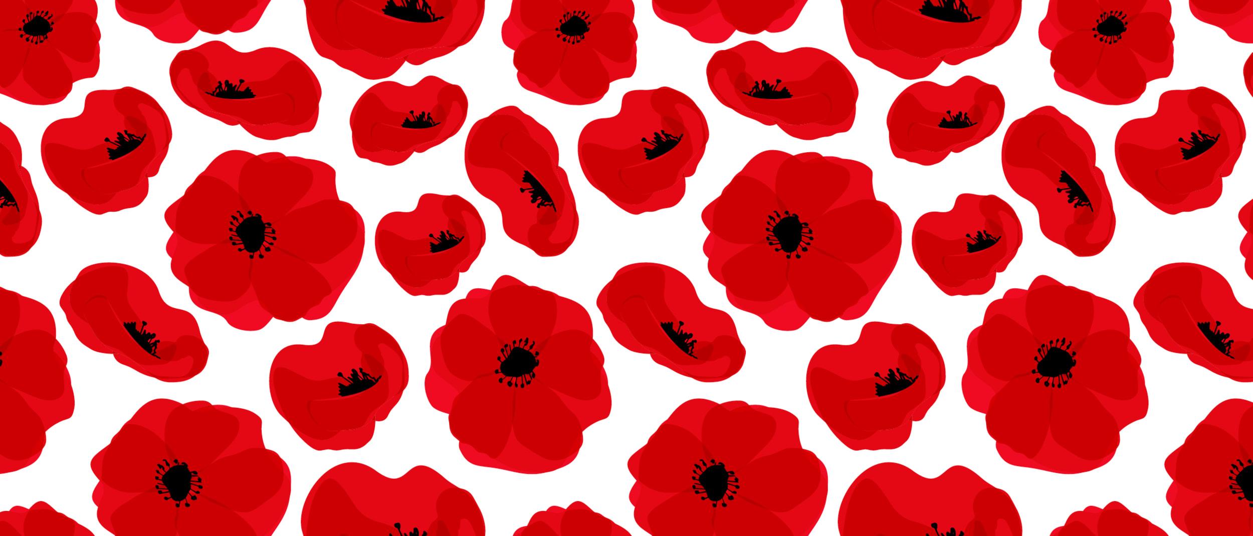 Anzac Day Poppy Craft
