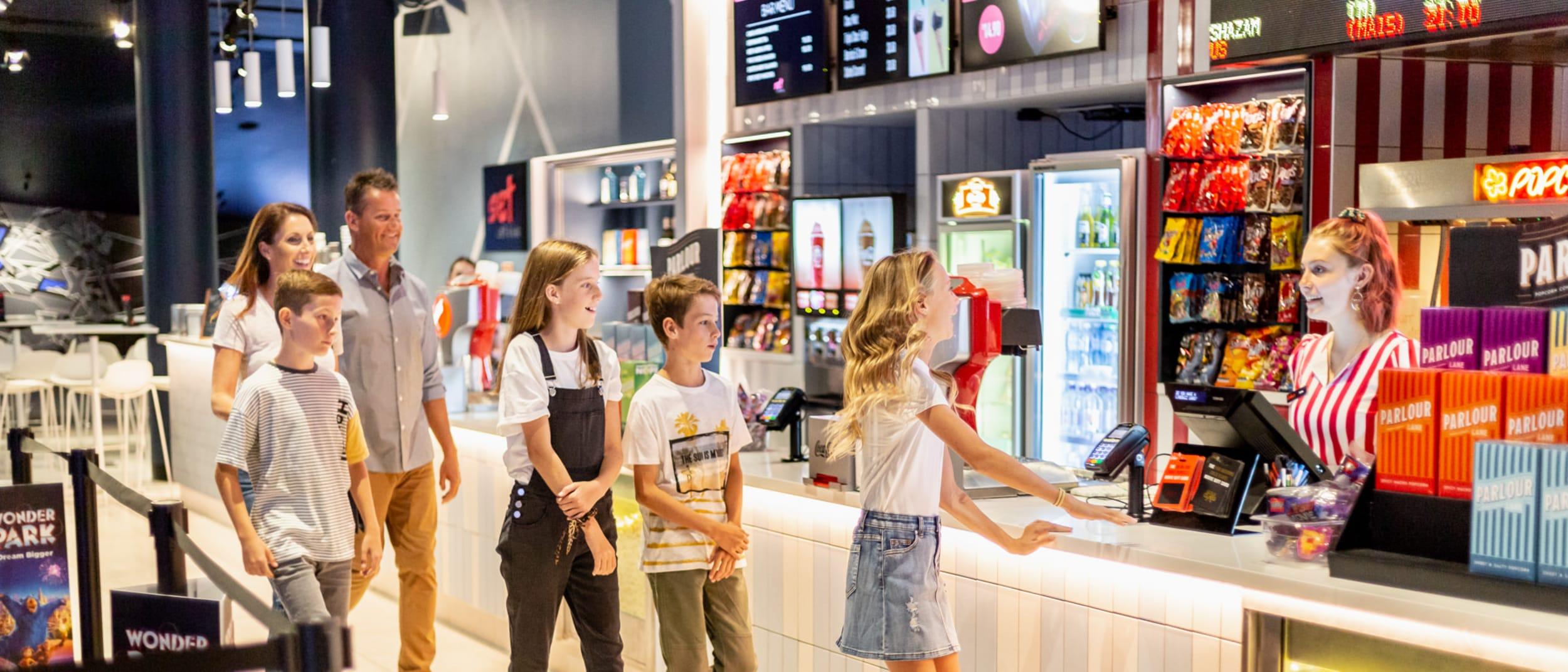 School holiday activities at Event Cinemas