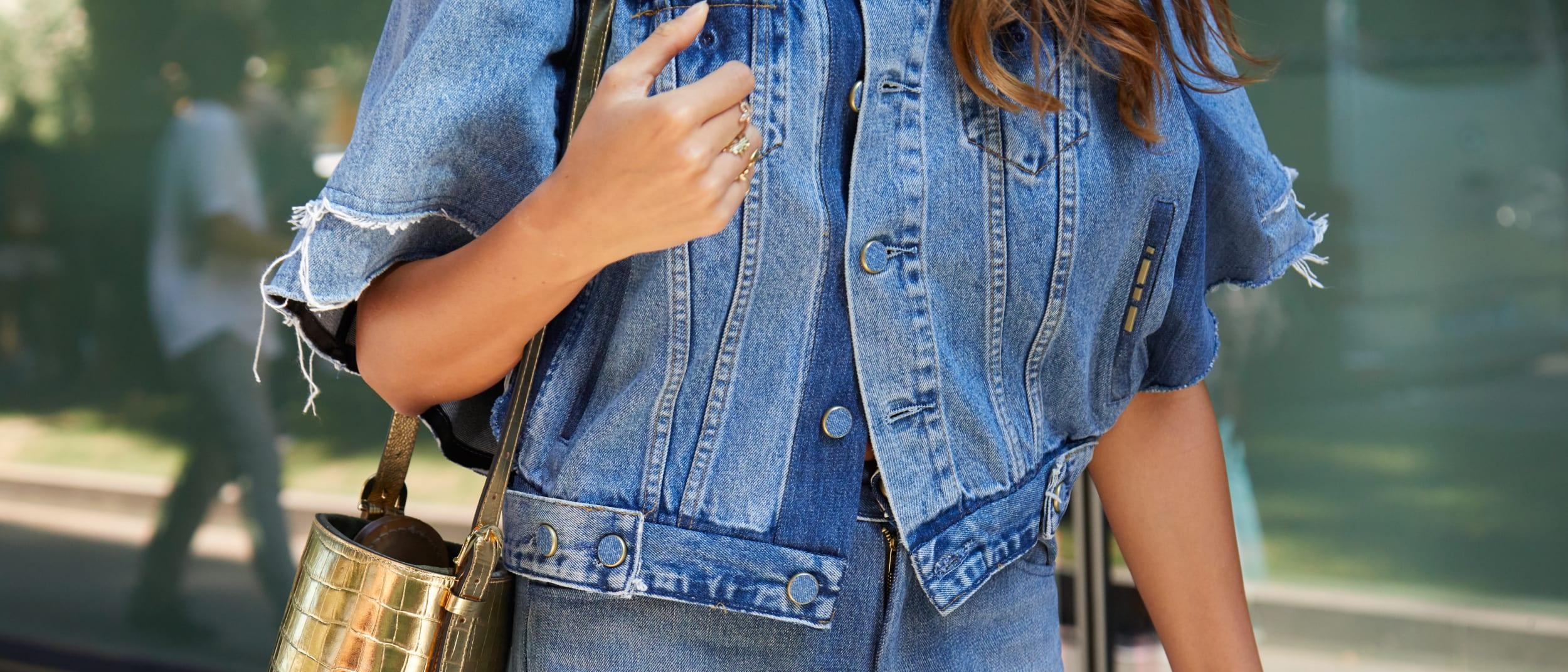 Why a denim jacket is the ultimate transeasonal piece