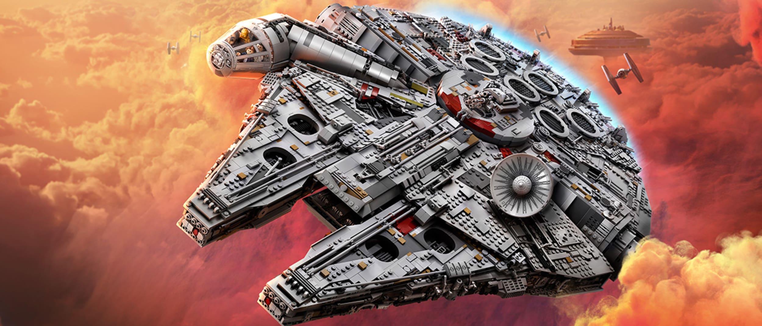 Win a LEGO® Star Wars™ Millennium Falcon