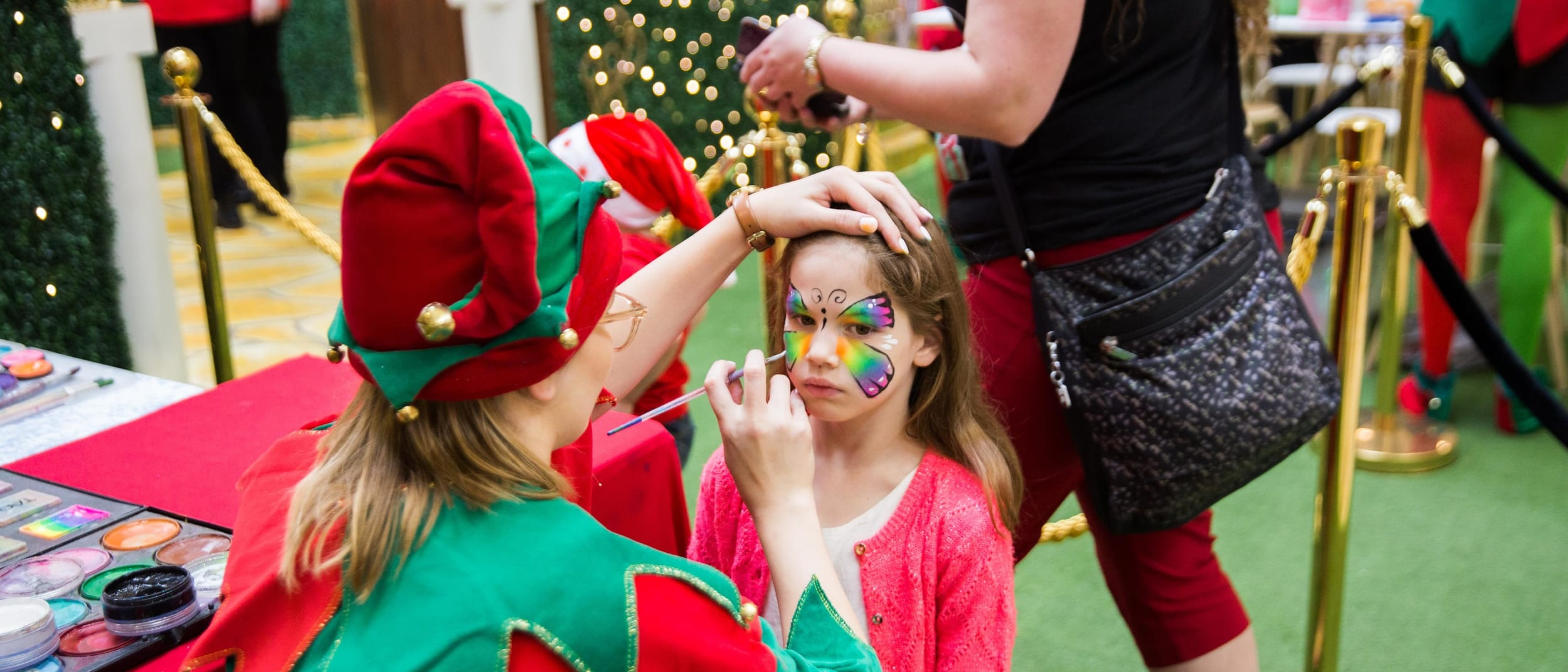 Festive face painting