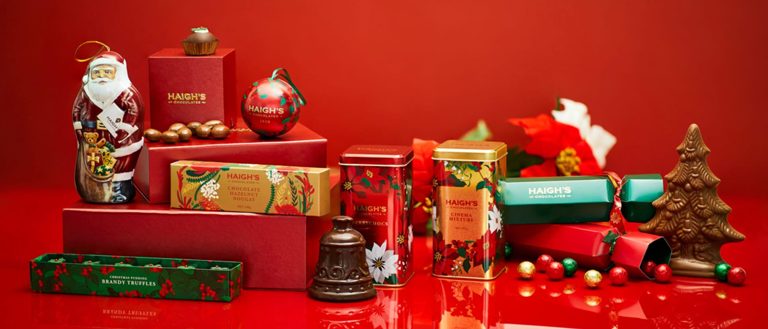 Haigh's Chocolates: Christmas collection