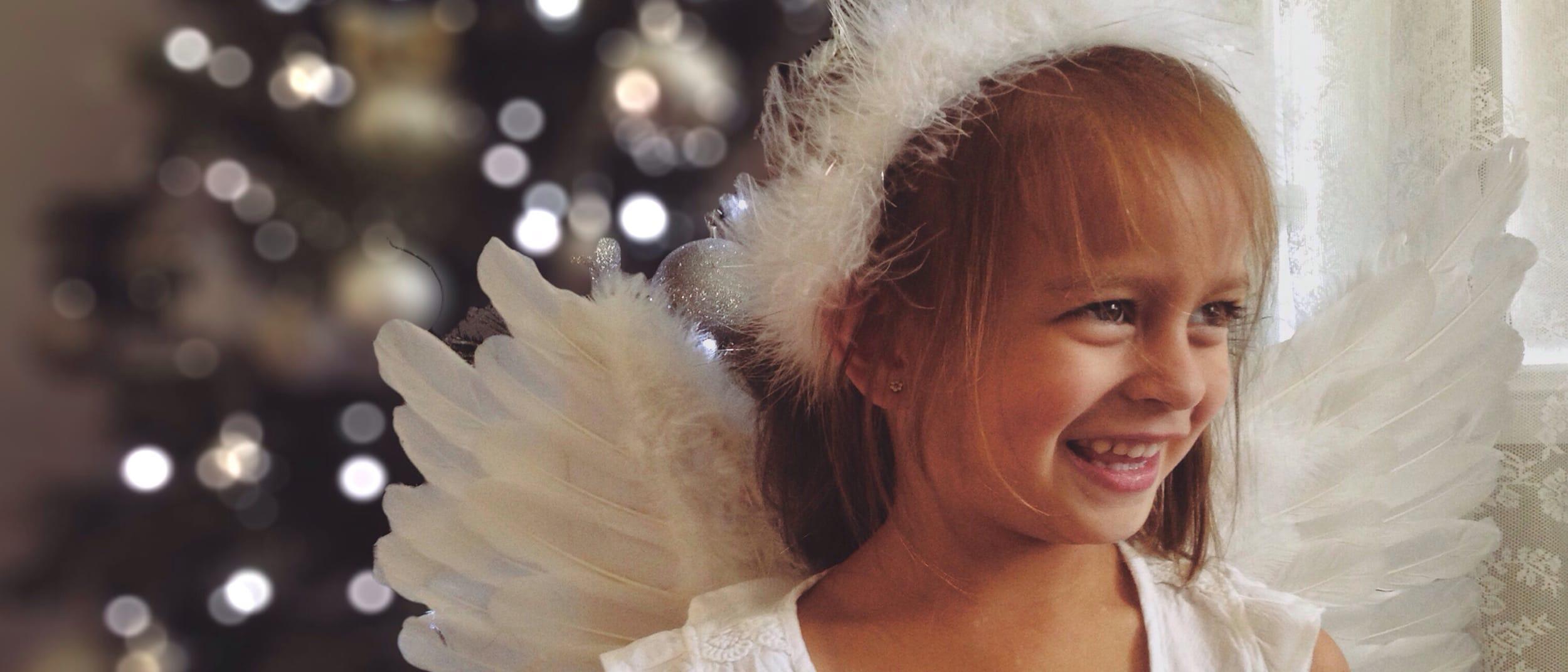 Christmas Polaroid Fairies