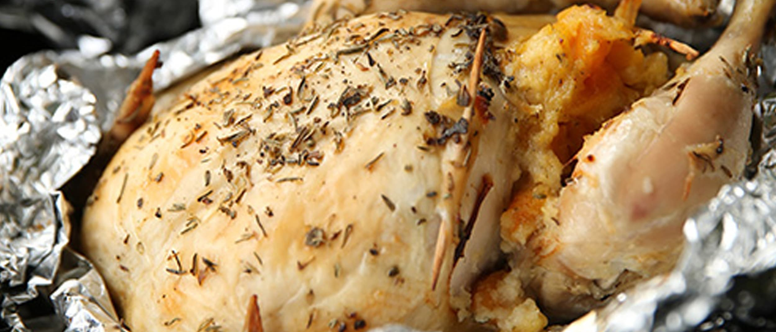 Roast Chicken with Apricot & Orange Stuffing recipe