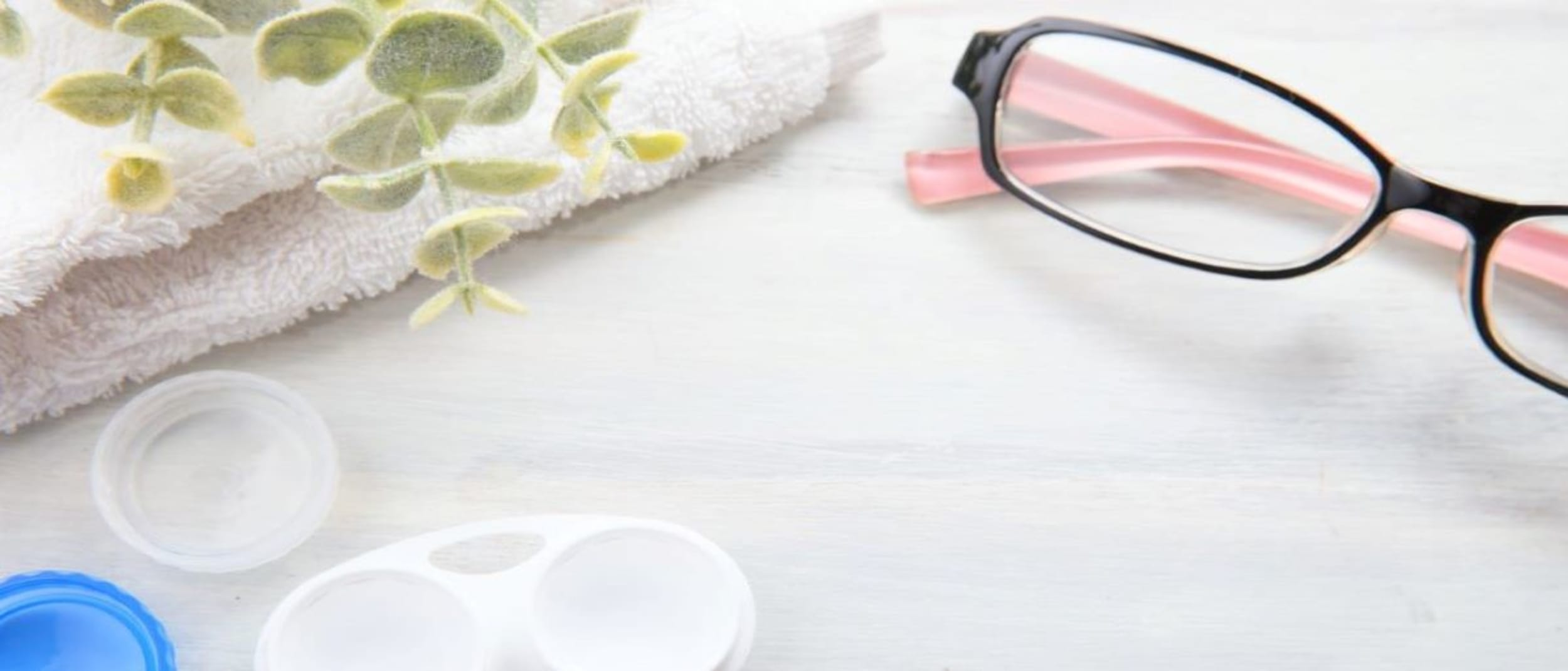 Enjoy free glasses with 12 month purchase of disposable lenses