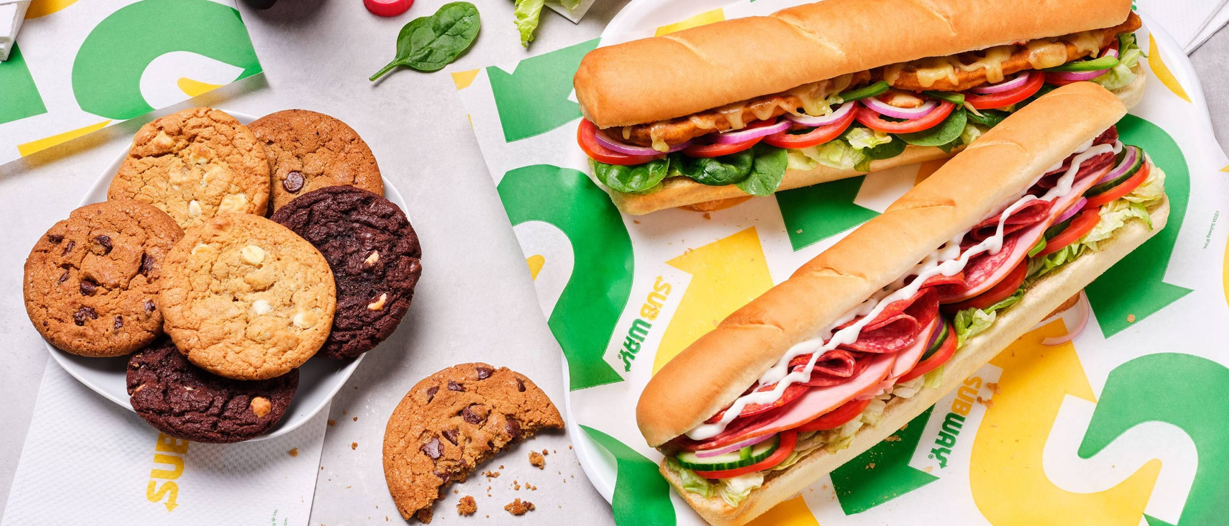 Westfield Plus Offer: Subway - 6 free cookies when you spend $30
