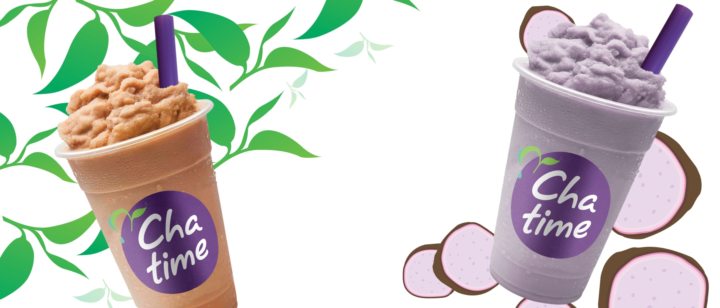 Chatime: Frozen Thai and Taro Teas