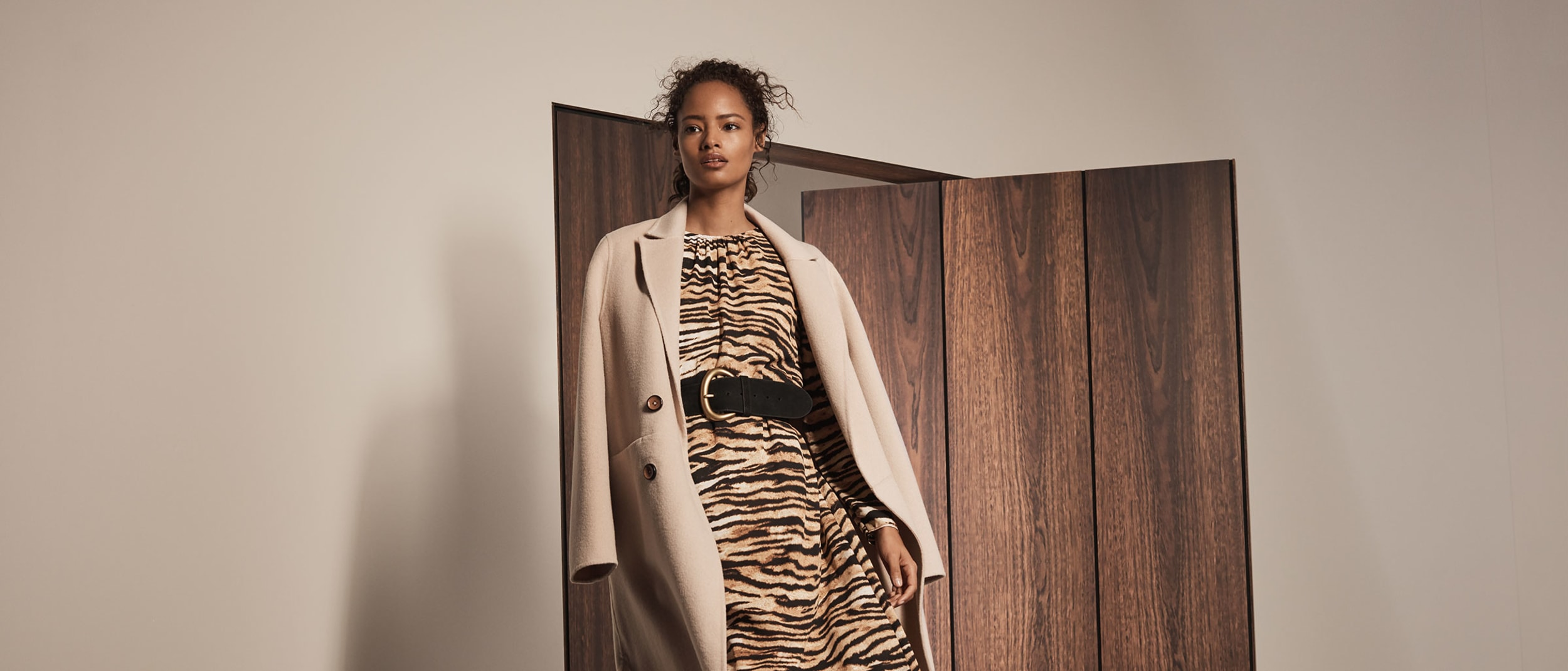 3 ways to wear animal print with Gavin Gage from Witchery