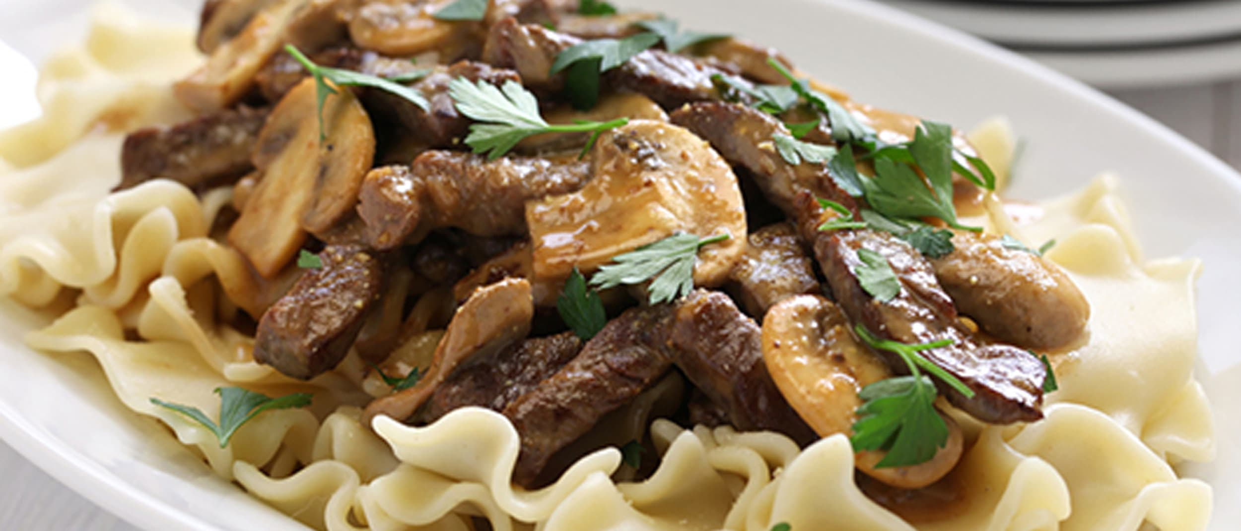 Beef Stroganoff recipe from PAK'nSAVE
