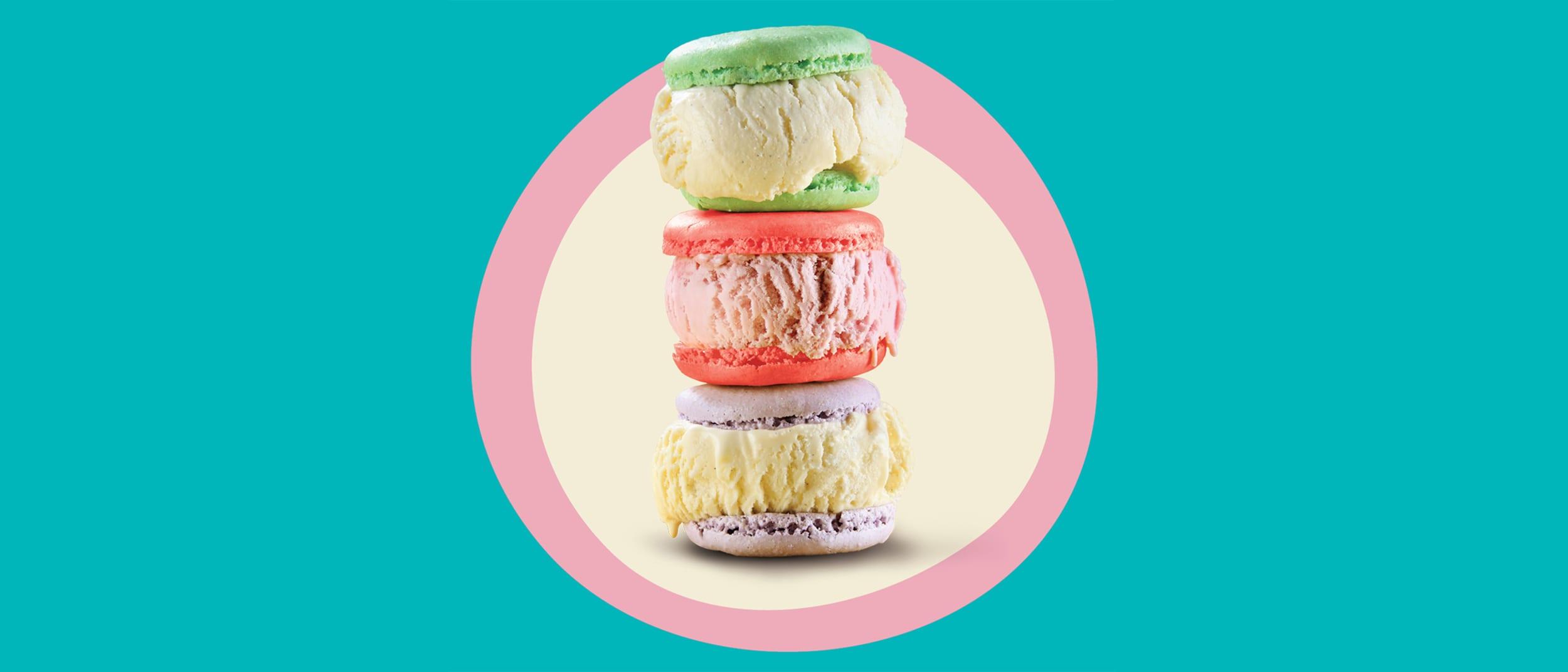 New Zealand Natural: $5 ice cream macarons