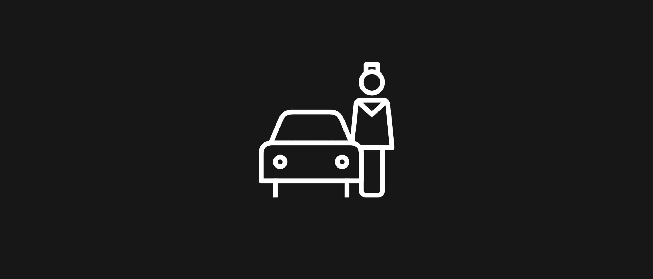 Save time and park in Valet