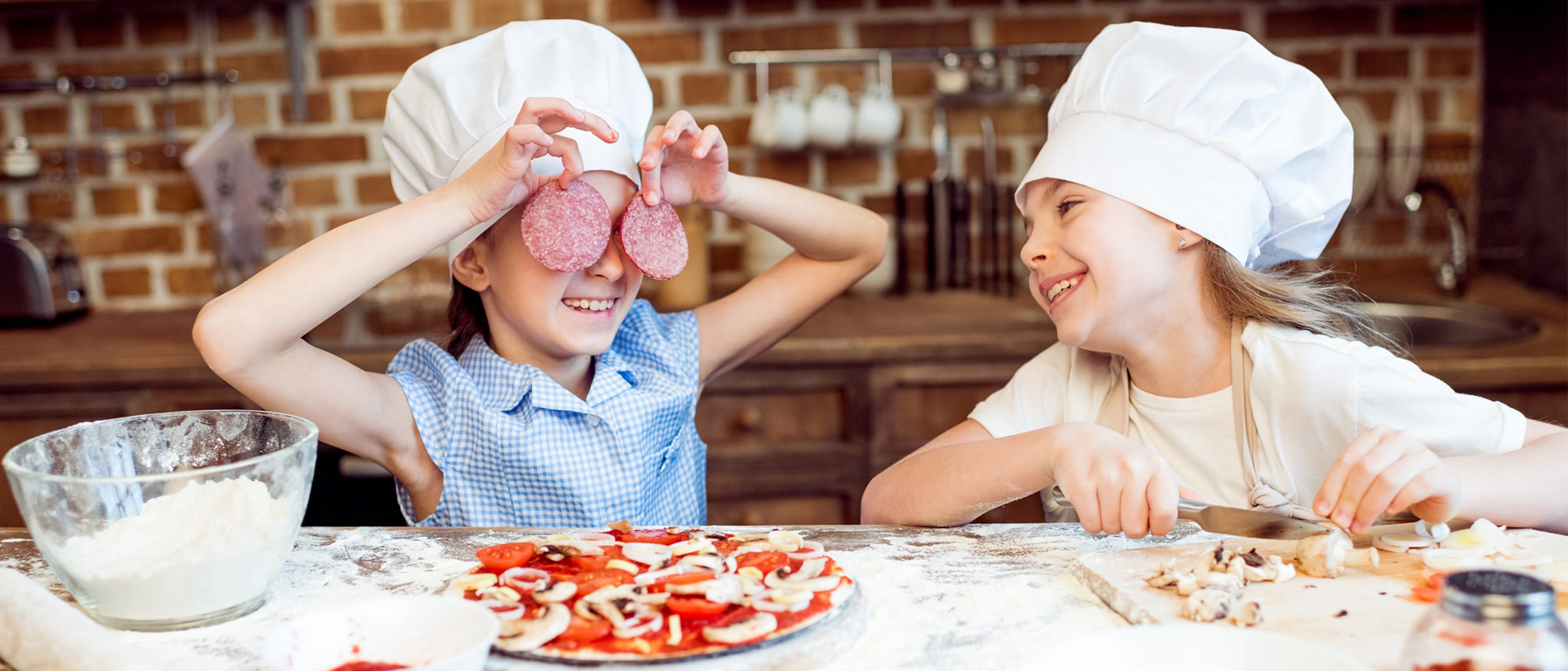 Kids in the Kitchen: DIY mini pizzas the whole family can enjoy