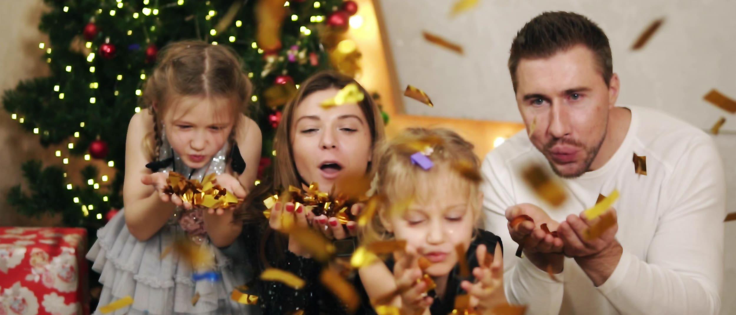 The Christmas Confetti Room