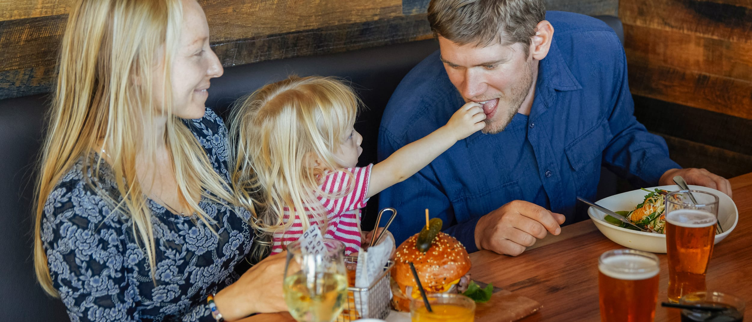 Treat Dad to a meal he'll love this Father's Day