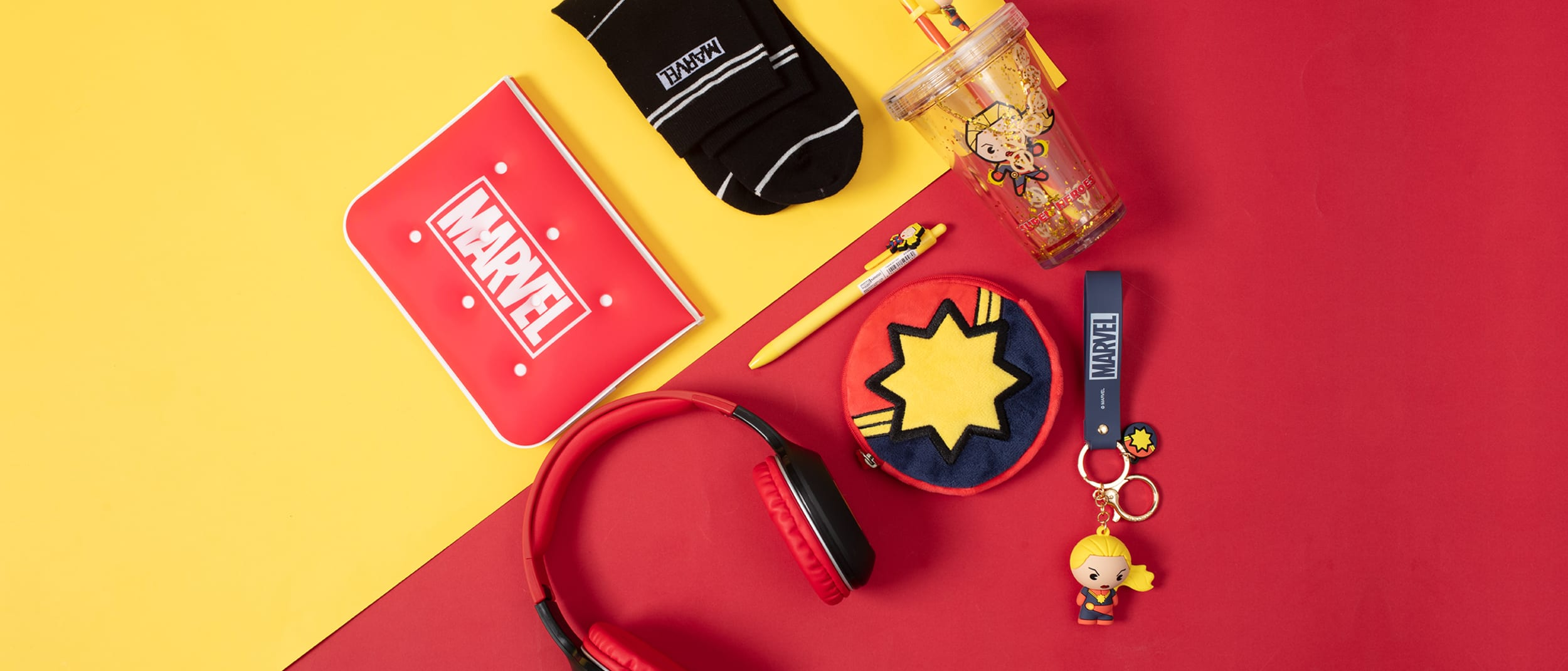 Miniso: Buy two get the third free on Marvel