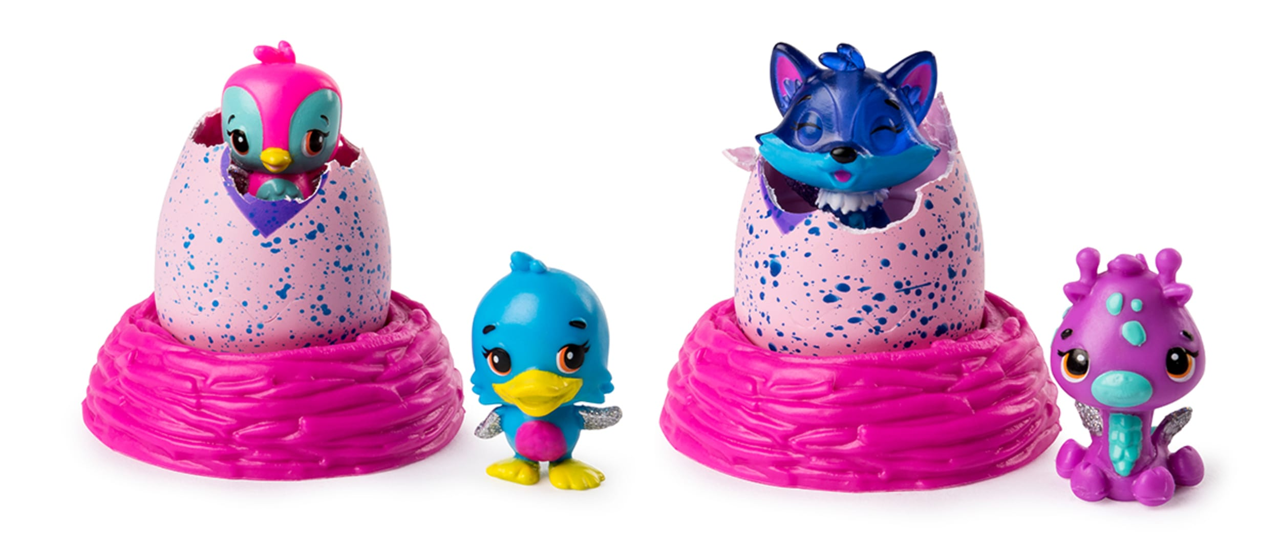 Receive your free pack of Hatchimals Colleggtibles!*