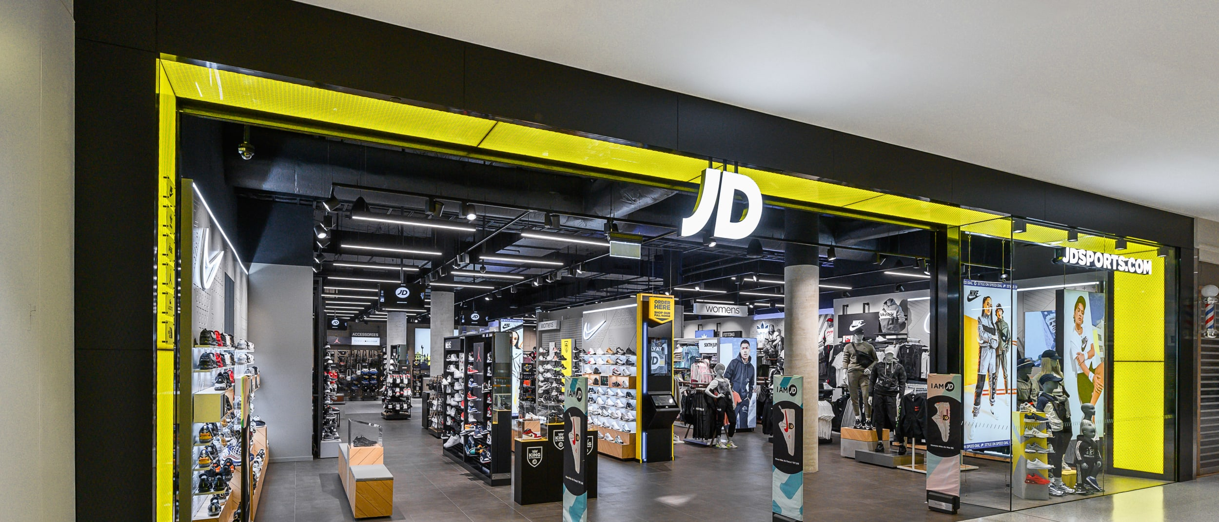 JD Sports is now open