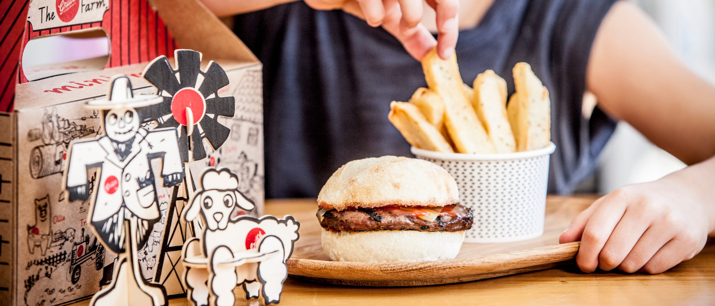 Grill'd: kids burger masterclass