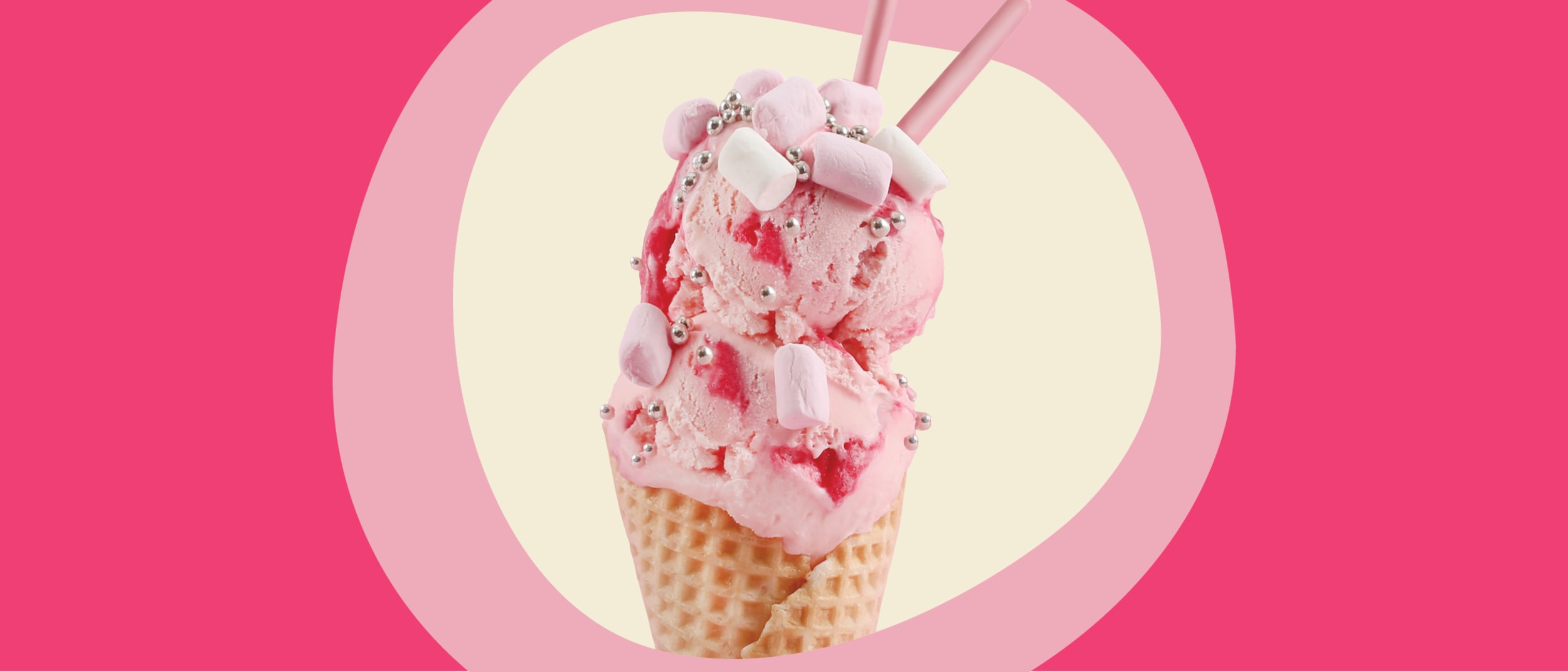 Introducing New Zealand Natural's new Pink Flamingo ice-cream
