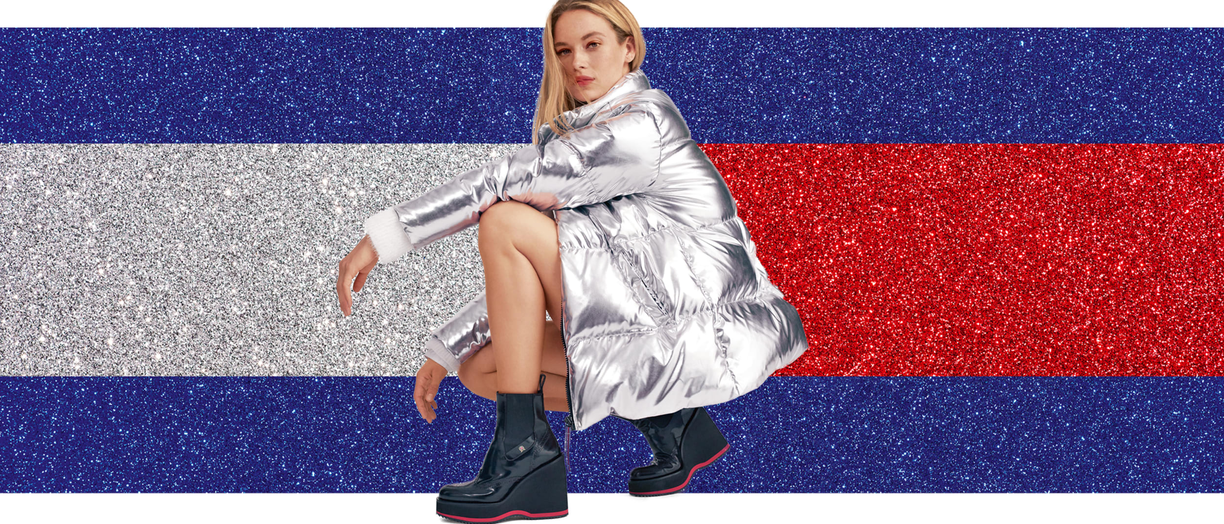 Tommy Hilfiger: complimentary embroidery