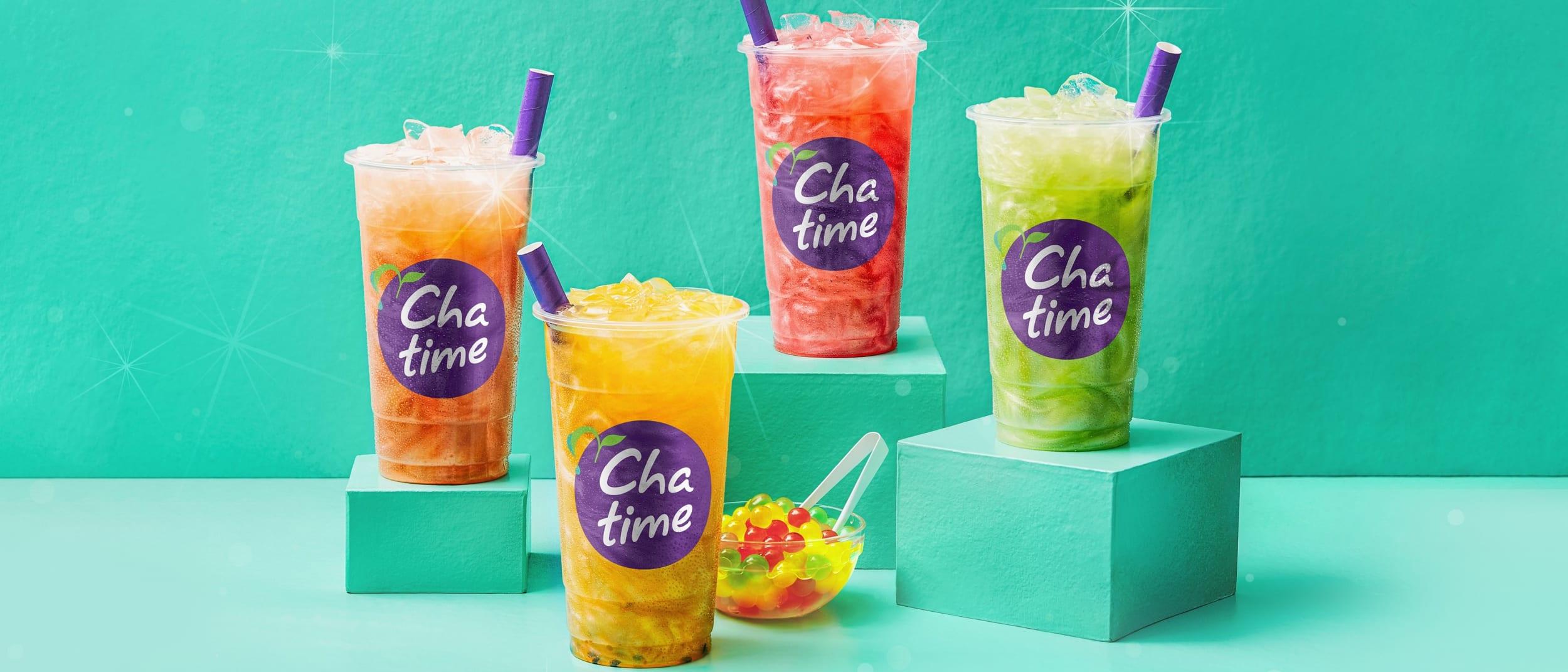 Chatime: Shimmer Fruity Iced Teas