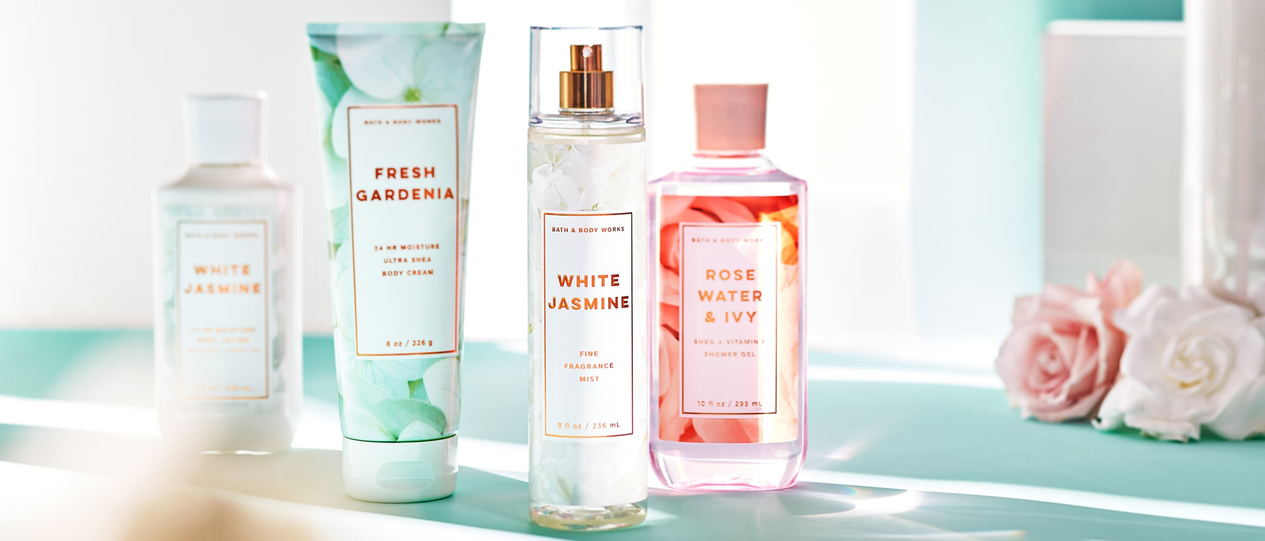 Fresh Greens and Blooms at Bath & Body Works