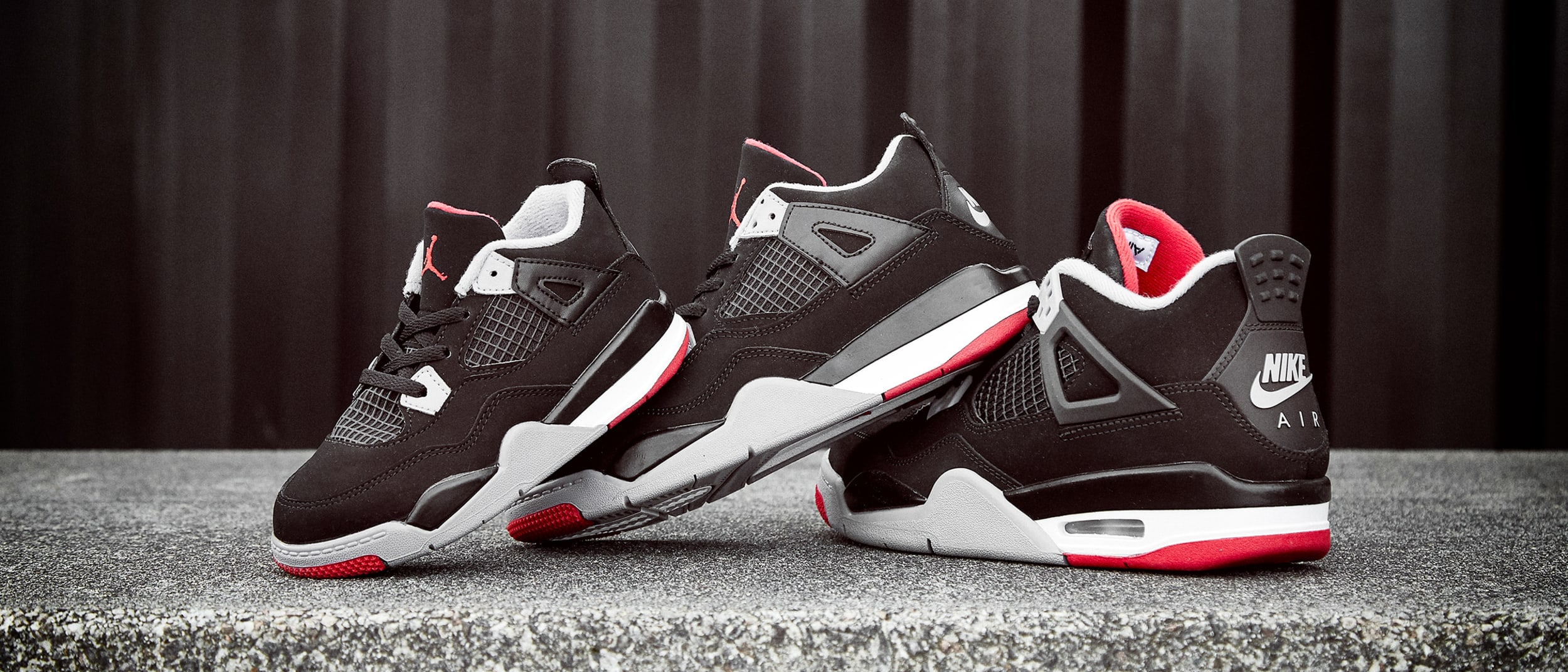 san francisco c3fb3 884a8 JD Sports launches Air Jordan IV  Bred