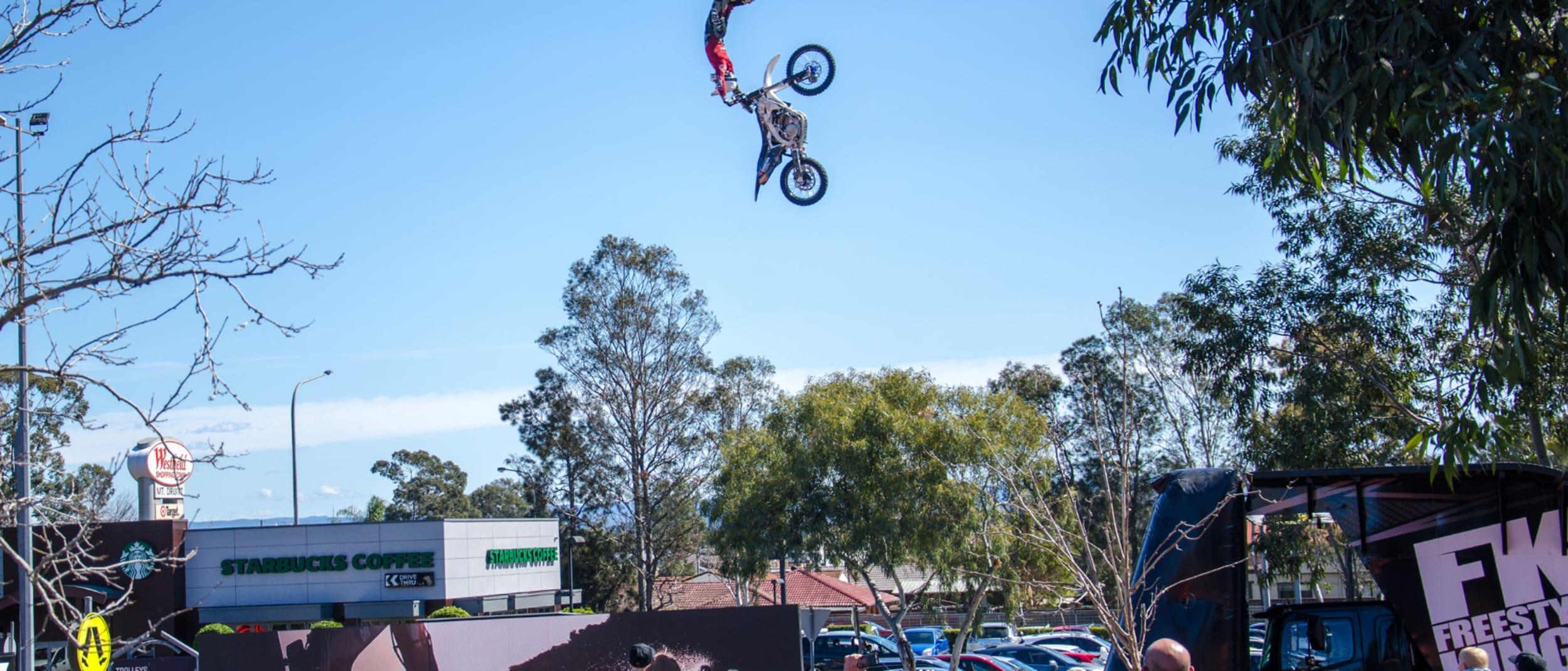 Australian Freestyle Kings motocross show