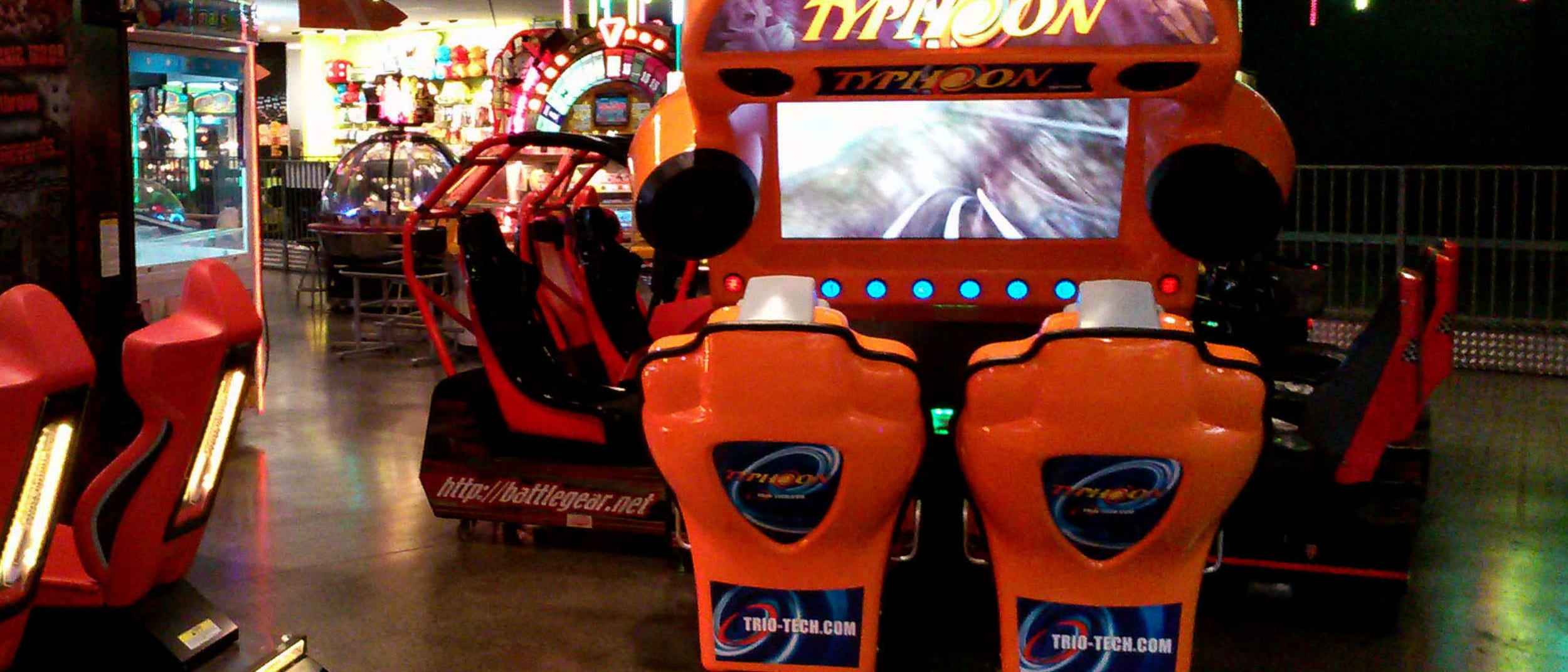 Arcade games at iPlay Belconnen