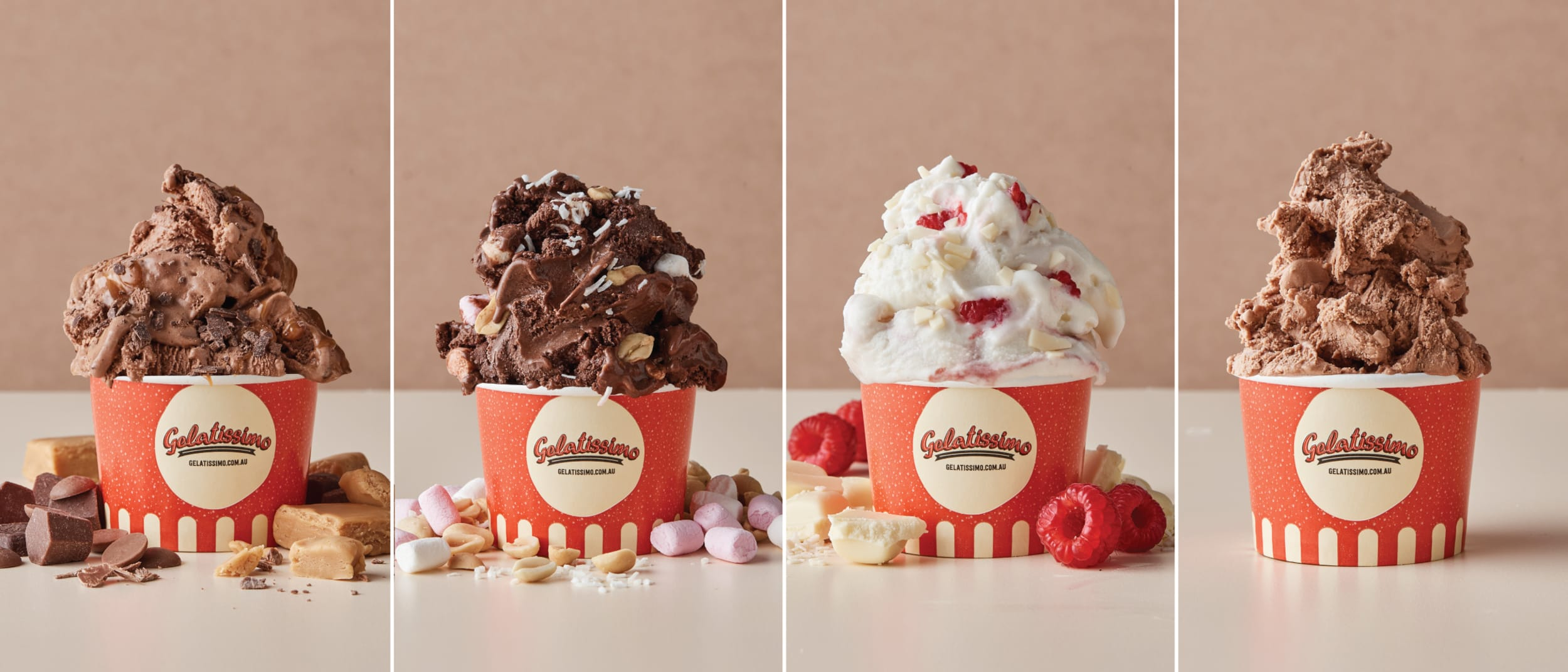 Four new gelato flavours perfect for chocoholics at Gelatissimo