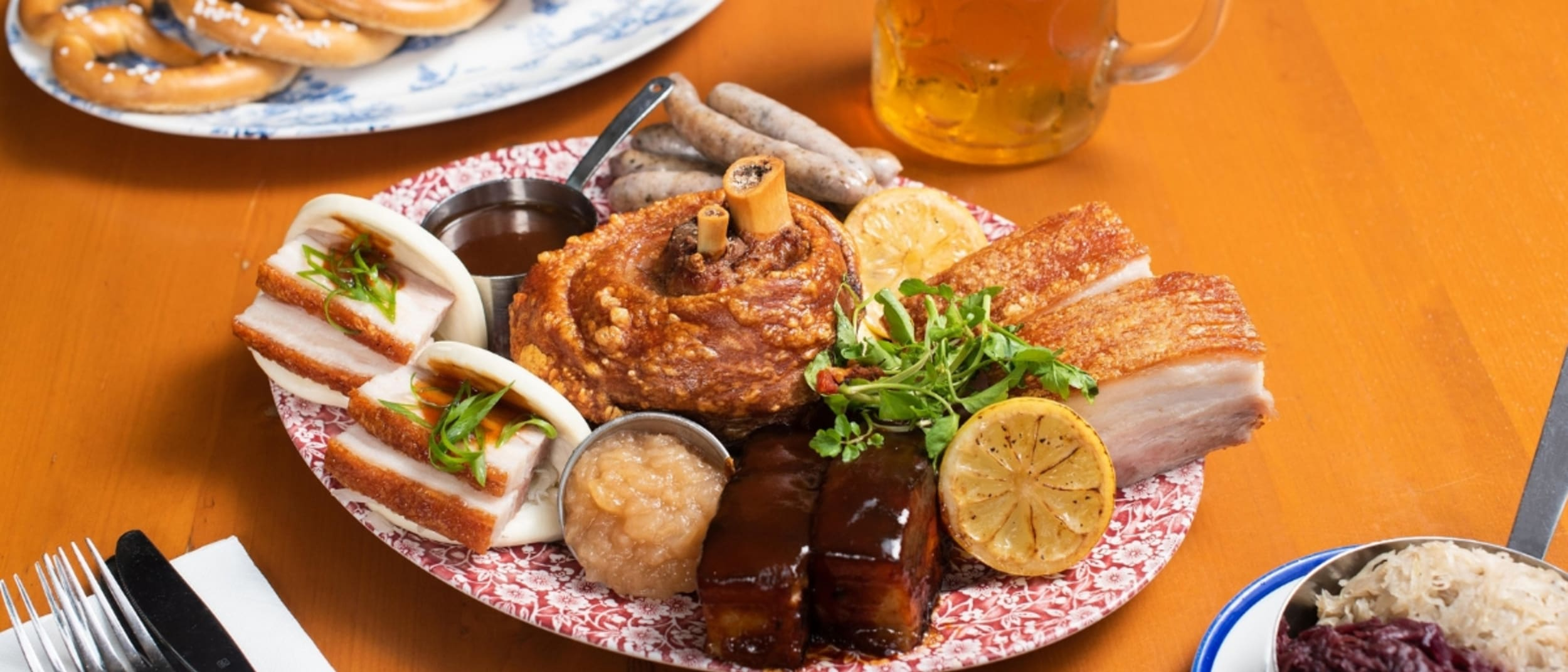The Bavarian daily specials