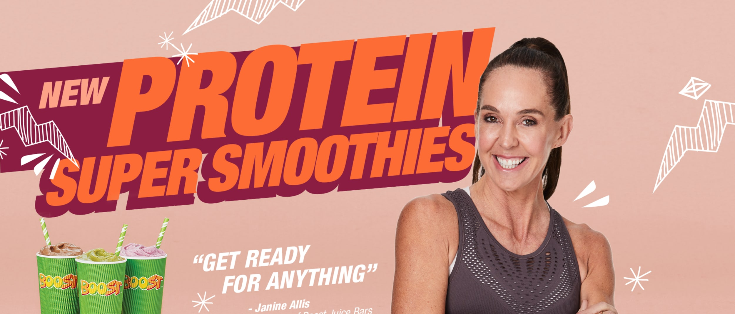Boost Juice: Protein Super Smoothies