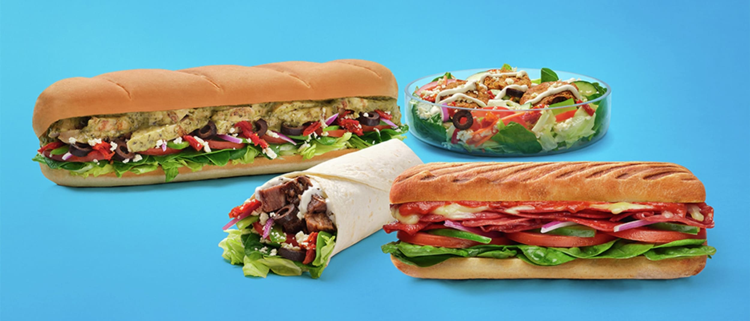 Head to the Med with Subway
