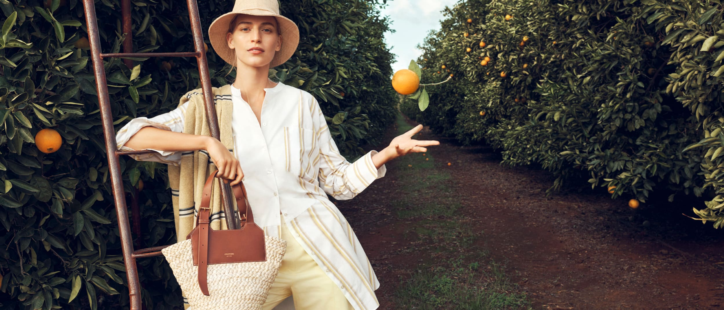Oroton: Introducing 'The Orchard' collection