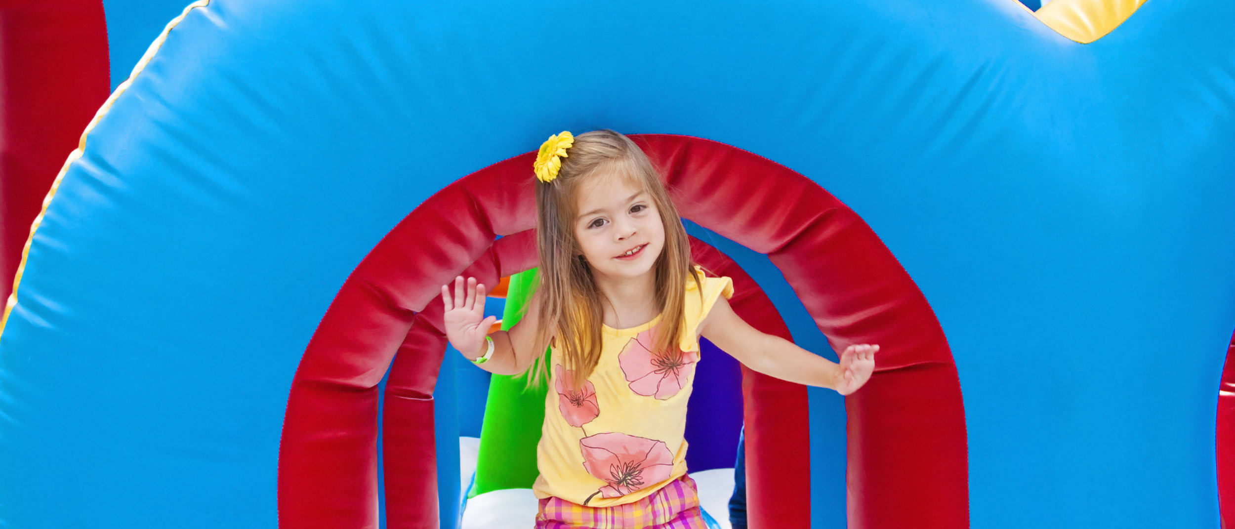 School Holidays Activities: Jumping Castle