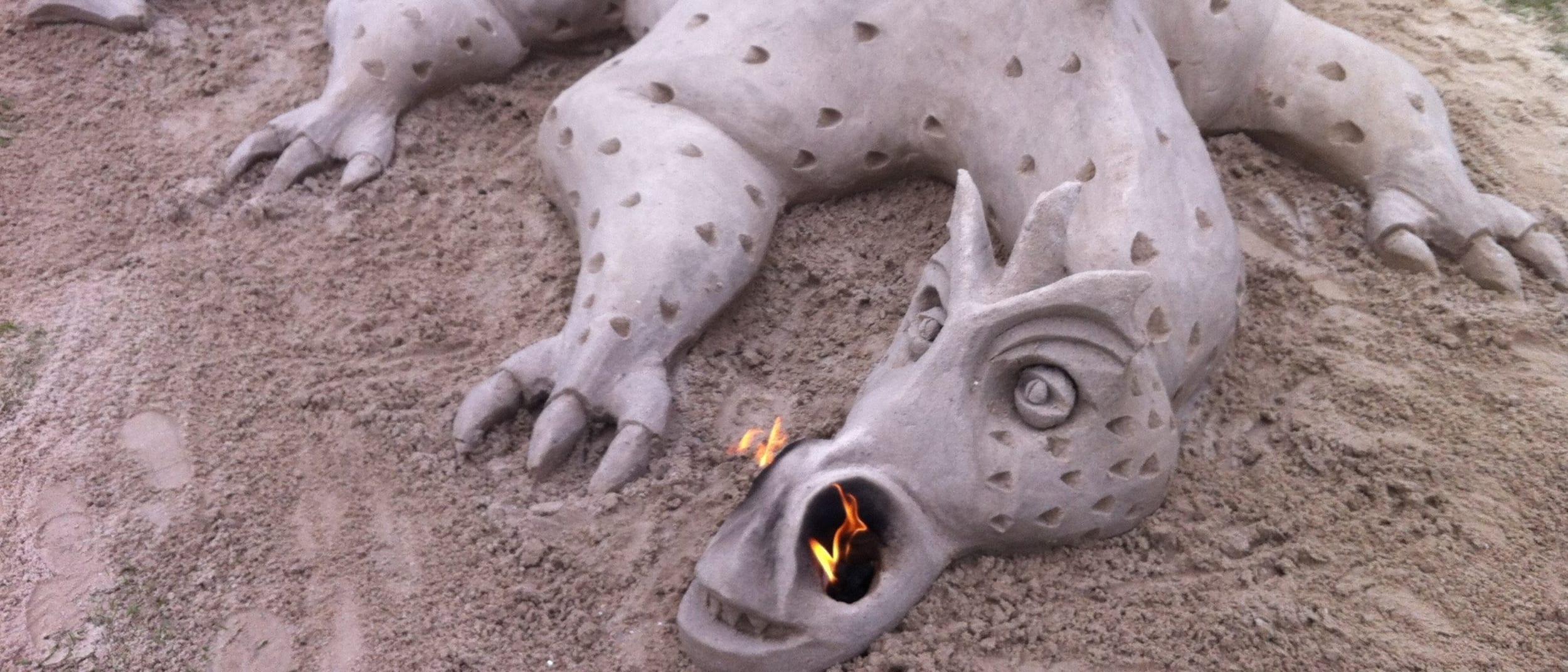 Summer Sand Sculpting