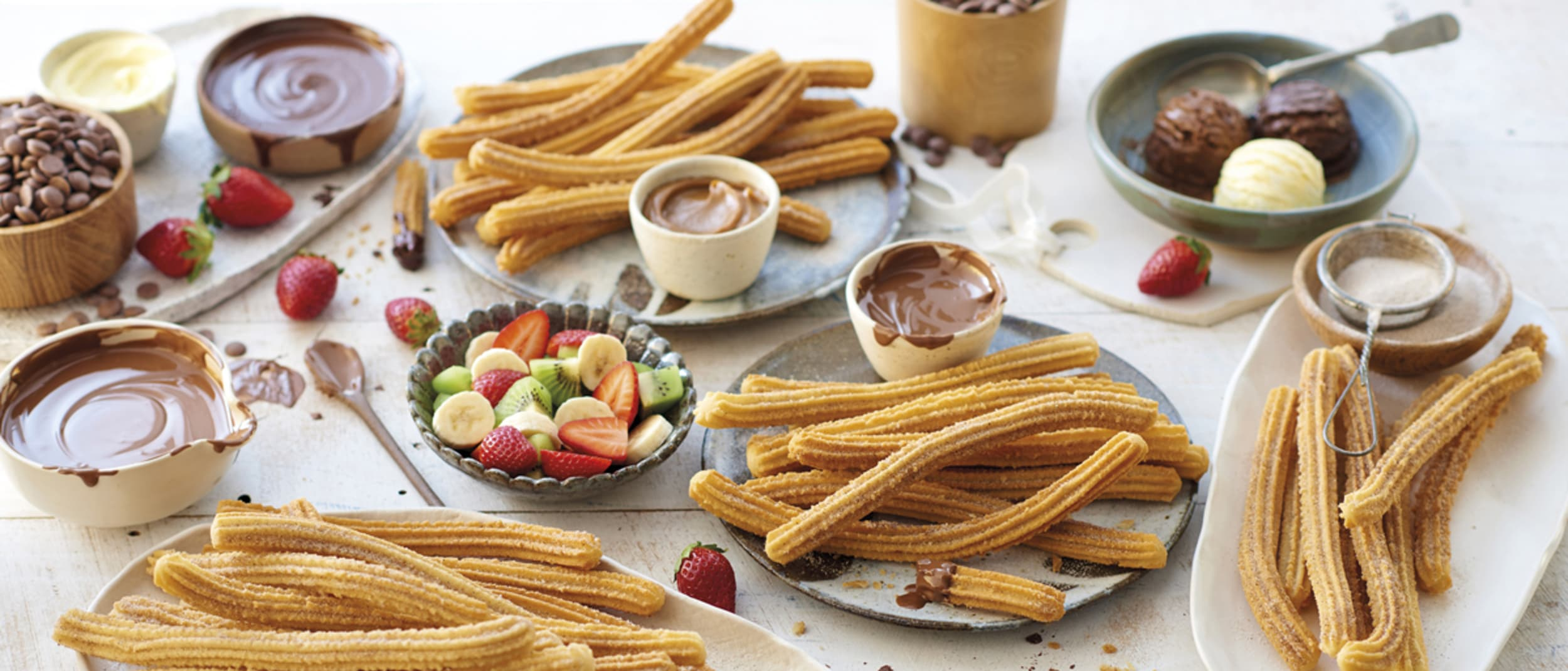 Free kids churros for your little one on their birthday