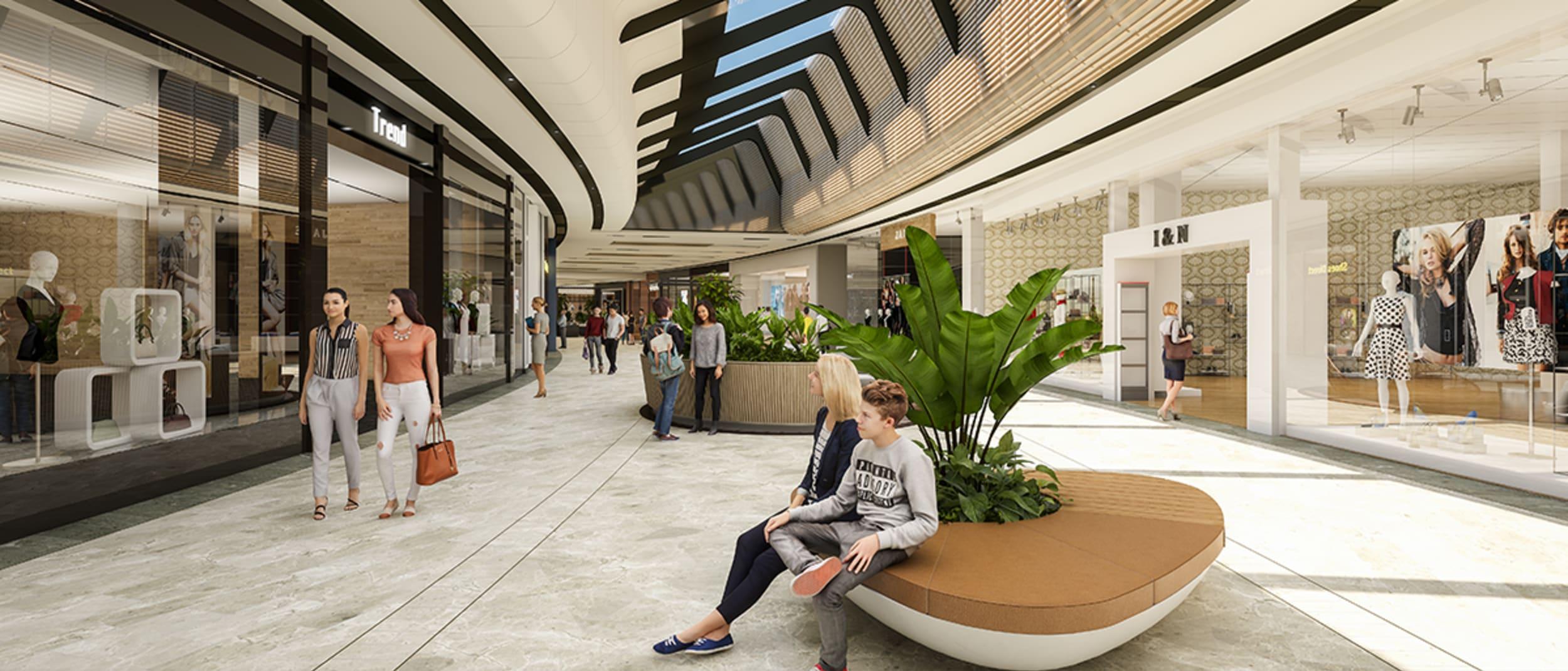 Westfield Carousel redevelopment fly-through