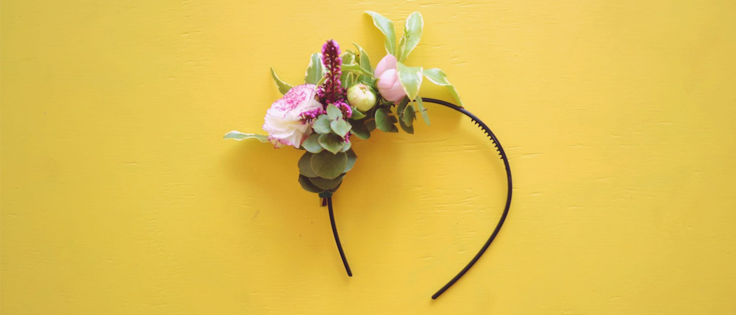A living fascinator DIY for Spring Carnival