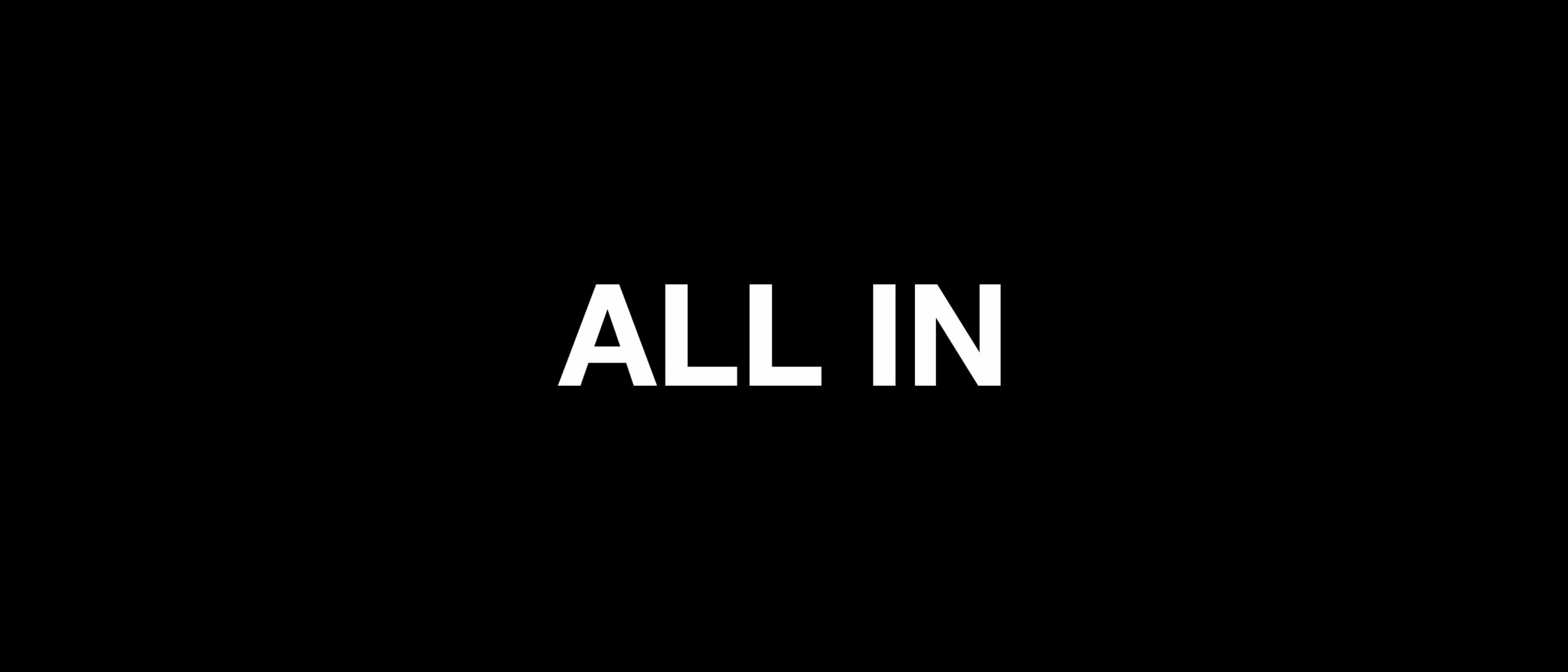 """ALL IN"" - Retailers Unite"
