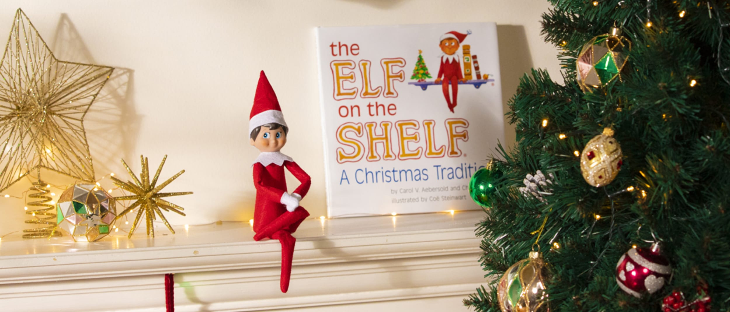 The Elf on the Shelf® Selfie