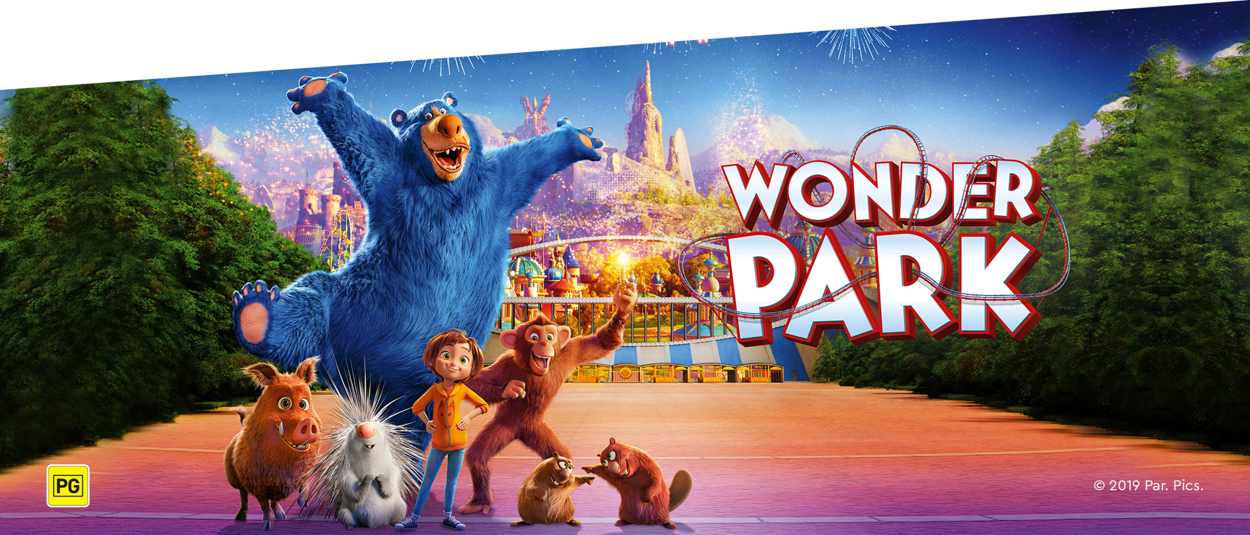 Skill testers, carnival crafts and more at our  Wonder Park zone